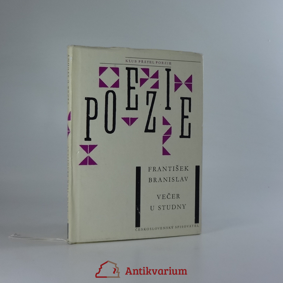 antikvární kniha Večer u studny, 1963