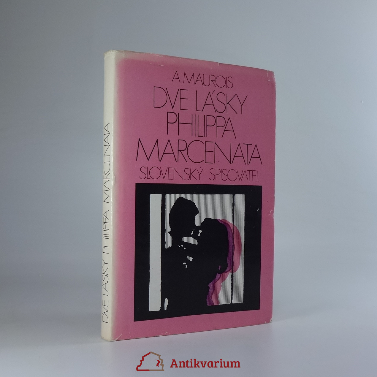 antikvární kniha Dve lásky Philippa Marcenata, 1974