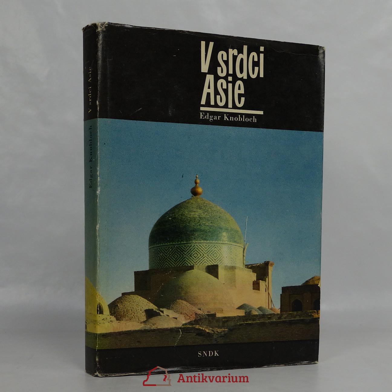 antikvární kniha V srdci Asie, 1962