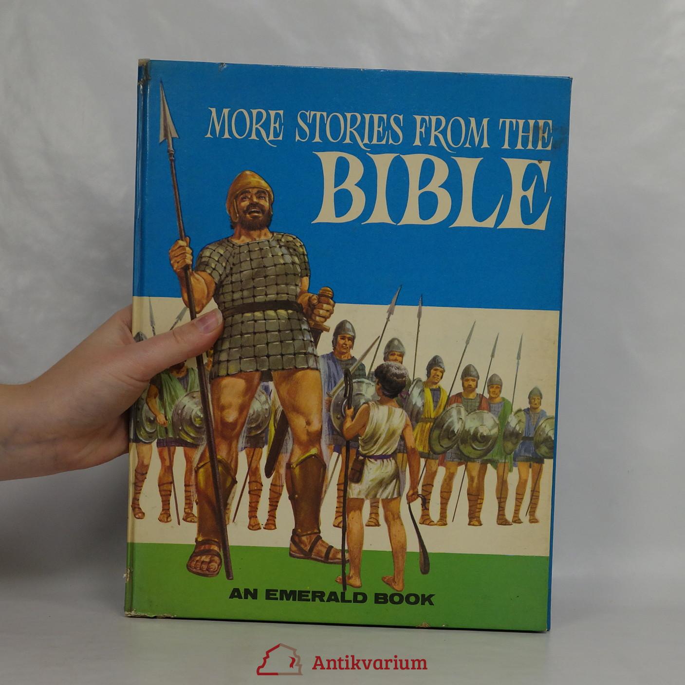 antikvární kniha More stories from the Bible, neuveden