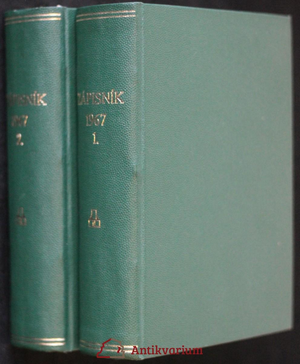 antikvární kniha Zápisník (č. 1. - 26.), 1967