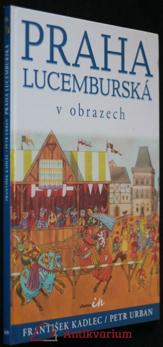 antikvární kniha Praha lucemburská v obrazech, 2006