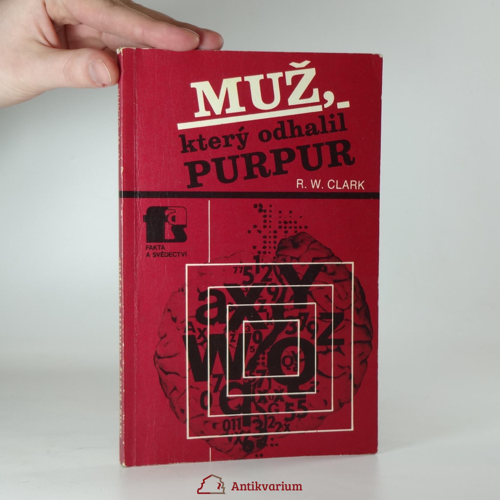 antikvární kniha Muž, který odhalil Purpur, 1983