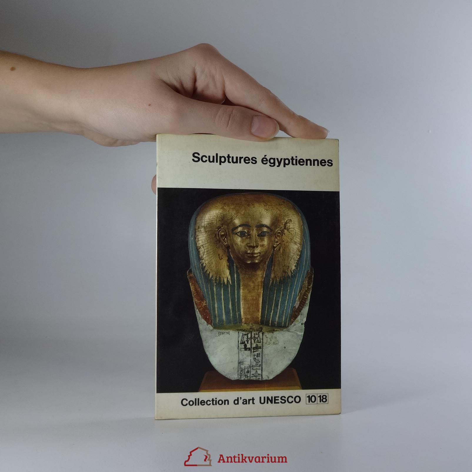 antikvární kniha Sculptures égyptiennes, 1966