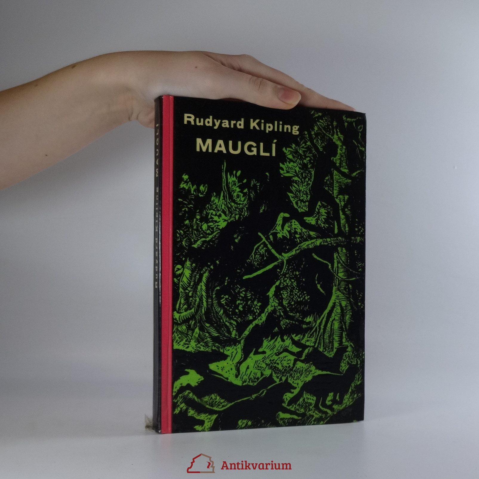 antikvární kniha Mauglí. Povídky z džungle, 1960