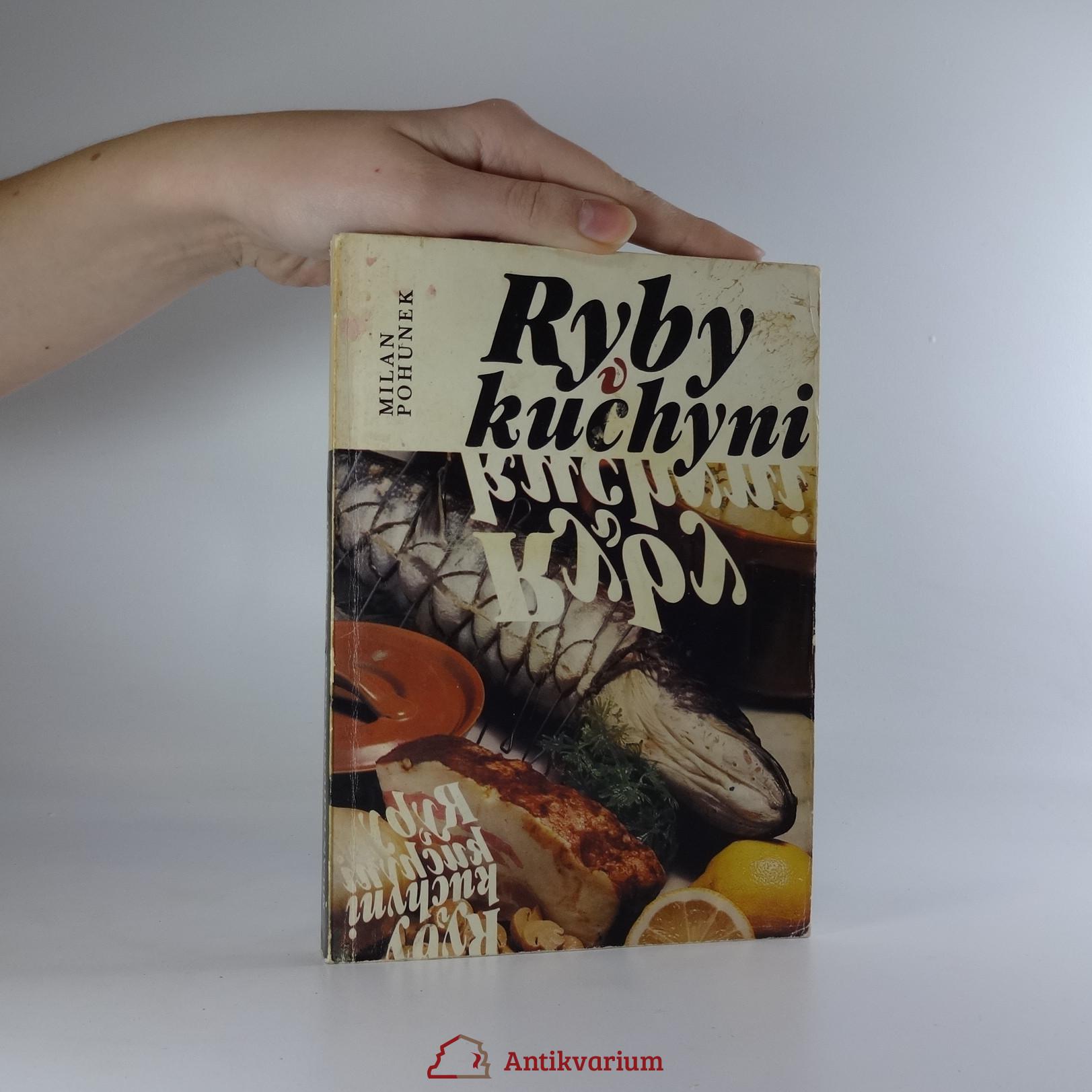 antikvární kniha Ryby v kuchyni, 1988