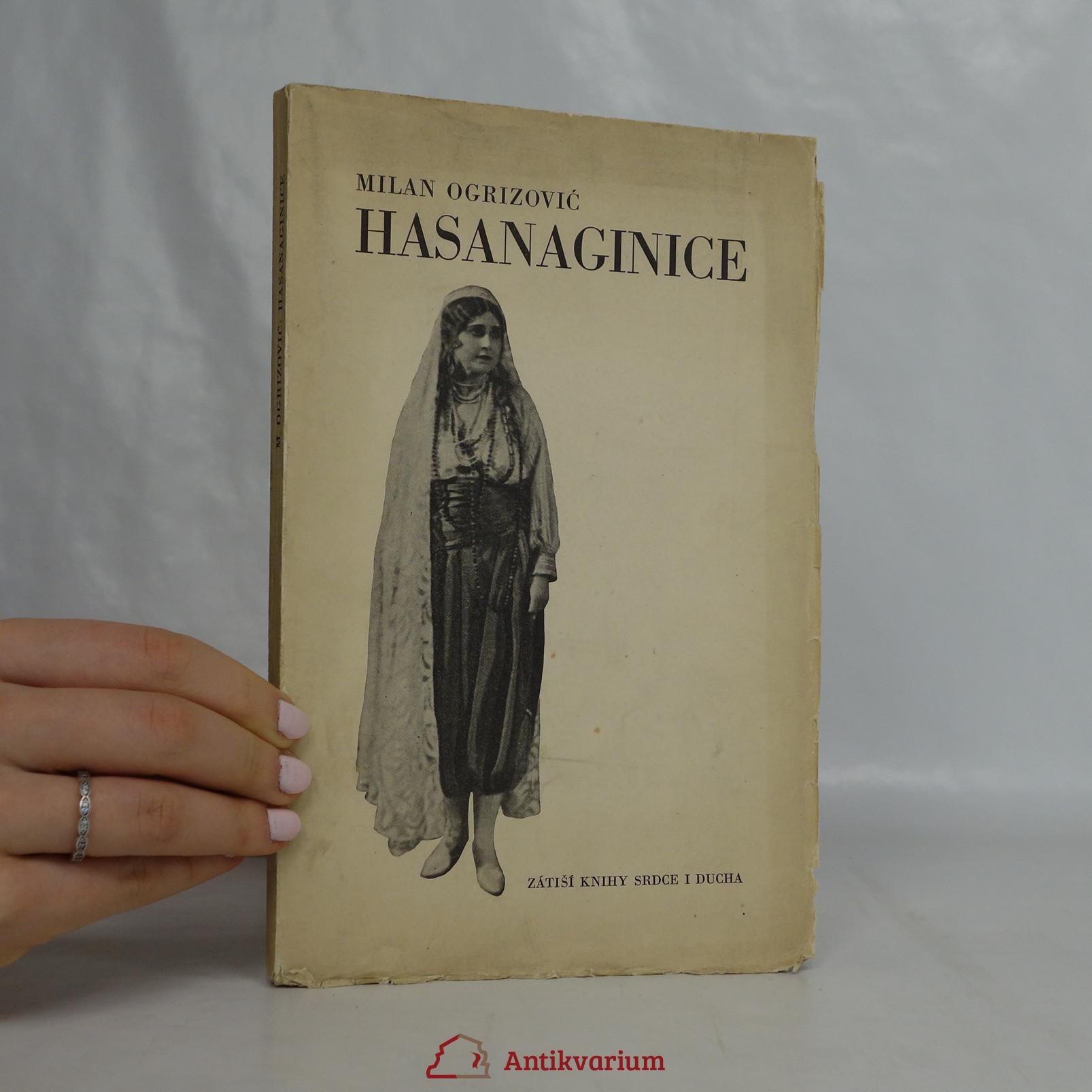antikvární kniha Hasanaginice. Drama o třech dějstvích, 1933