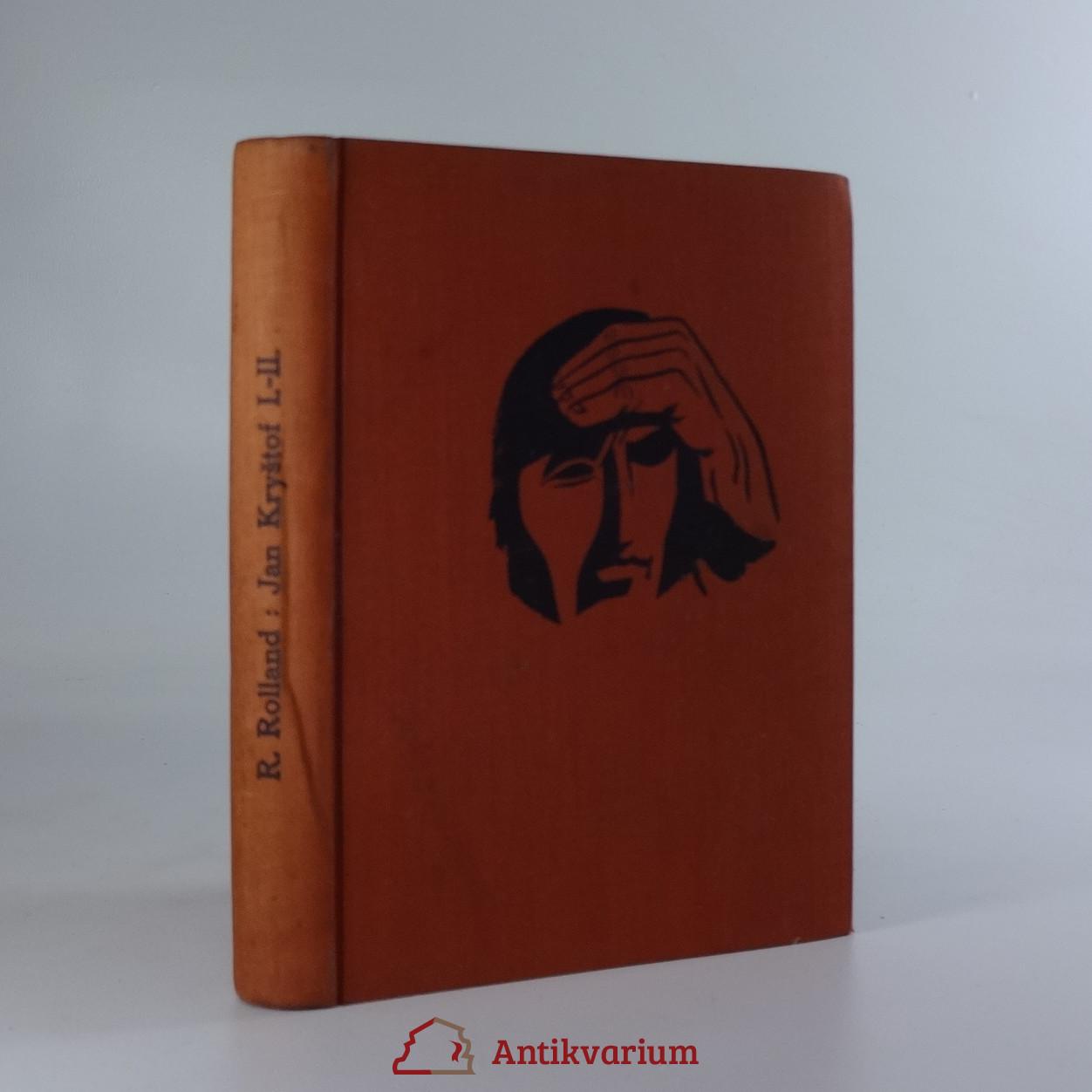 antikvární kniha Jan Kryštof. I.-II. díl, 1916 - 1917