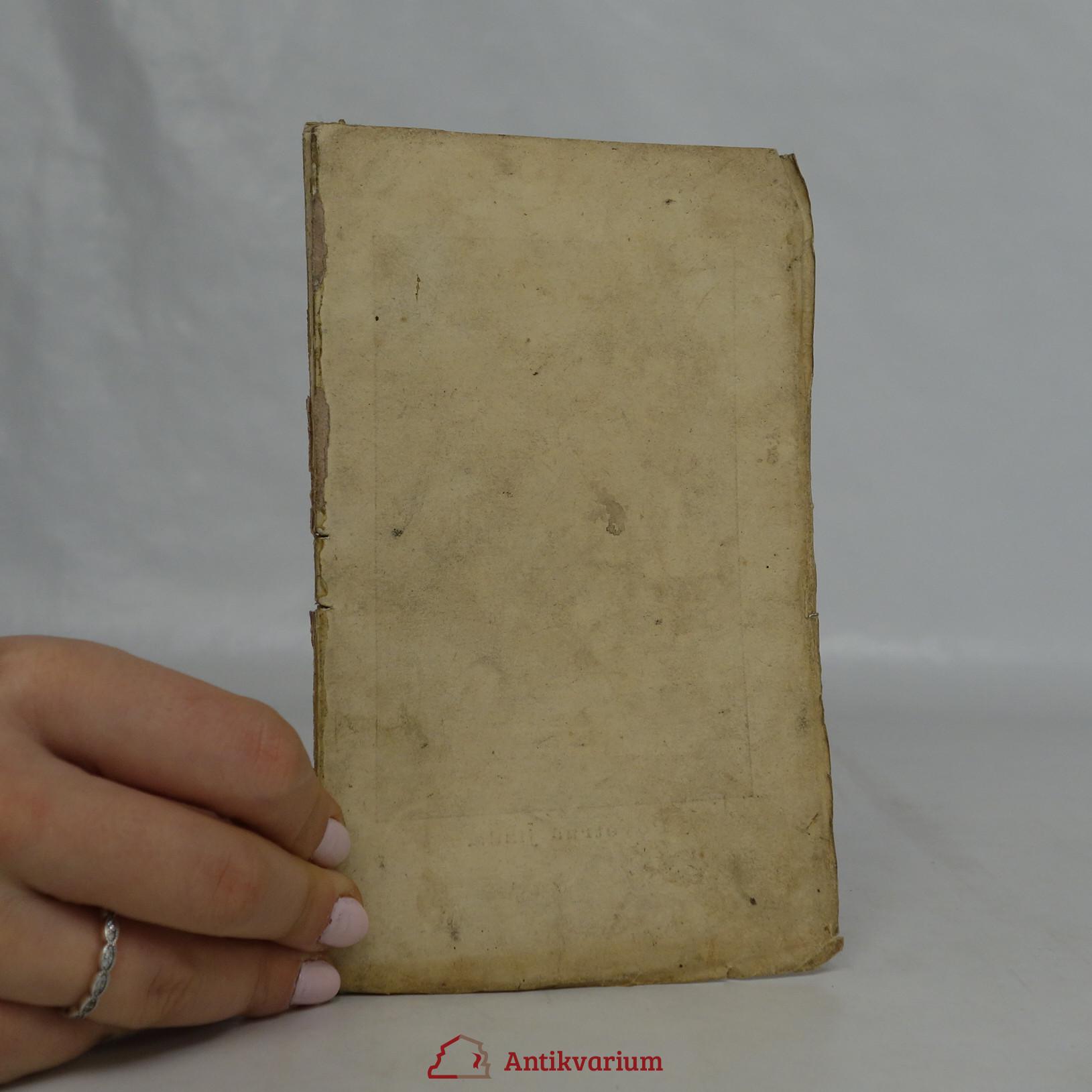 antikvární kniha Povídky a báchorky pro mládež. Fragment, končící stranou 48., 1870