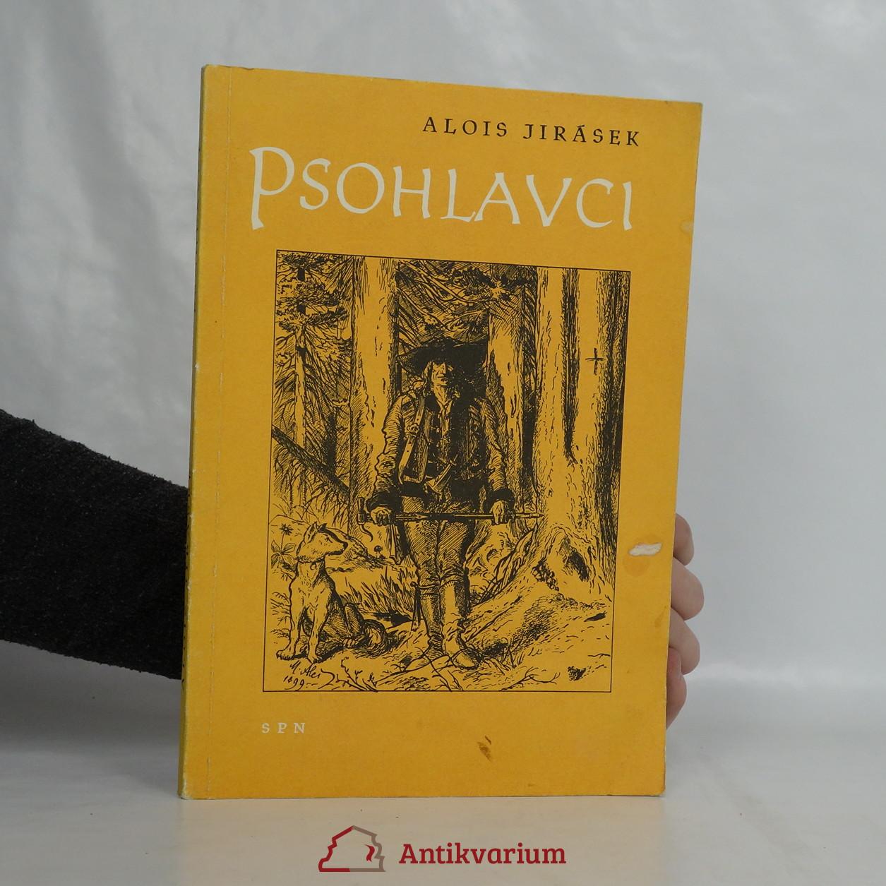 antikvární kniha Psohlavci : [Určeno] pro 7. postup. roč. všeobec vzdělávacích škol, 1961
