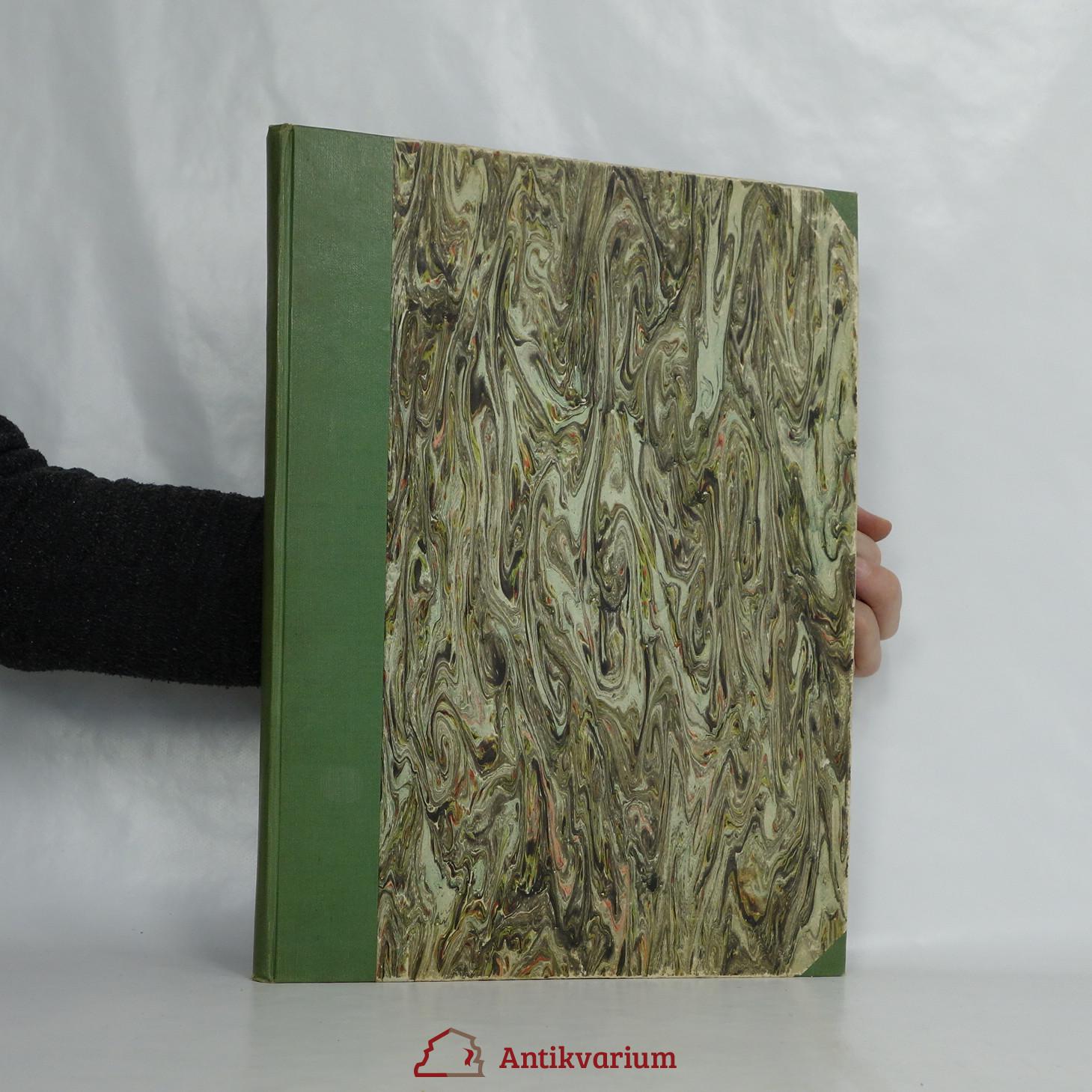 antikvární kniha Přítel zahrad. ročník XIV. (všech 12 částí), 1948