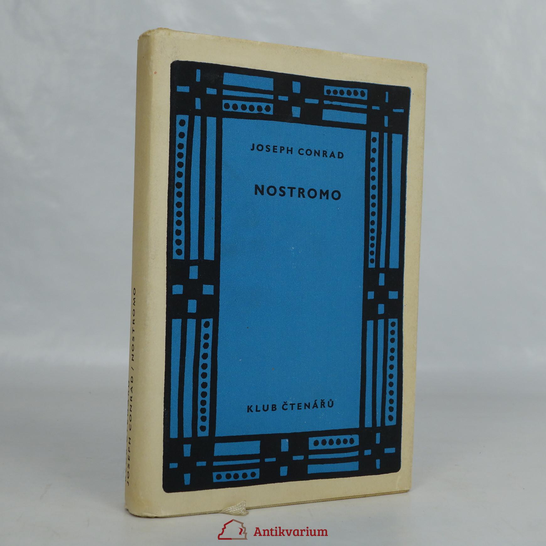 antikvární kniha Nostromo, 1958