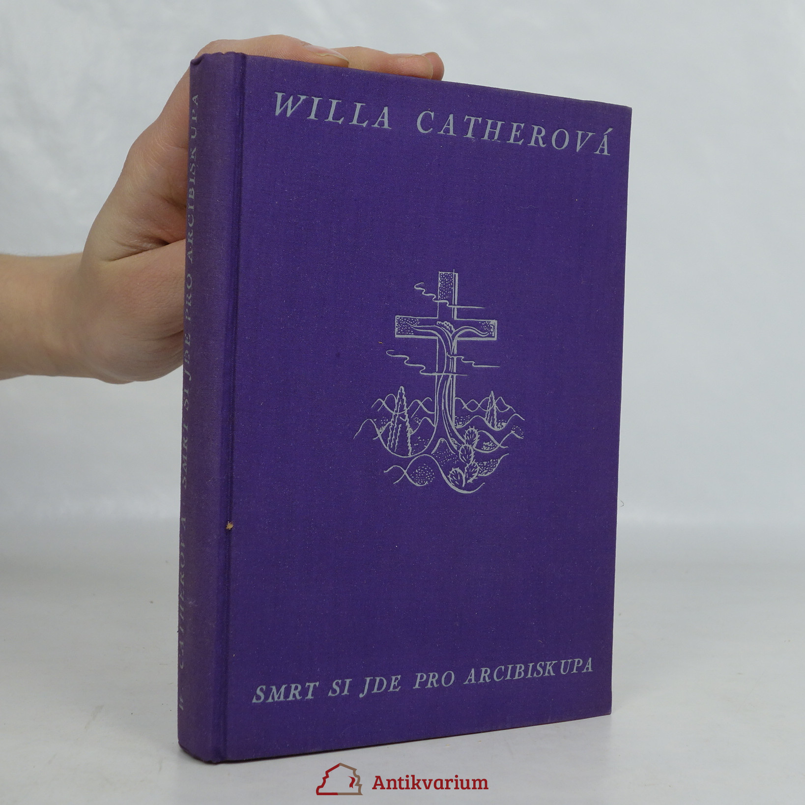 antikvární kniha Smrt si jde pro arcibiskupa, 1930