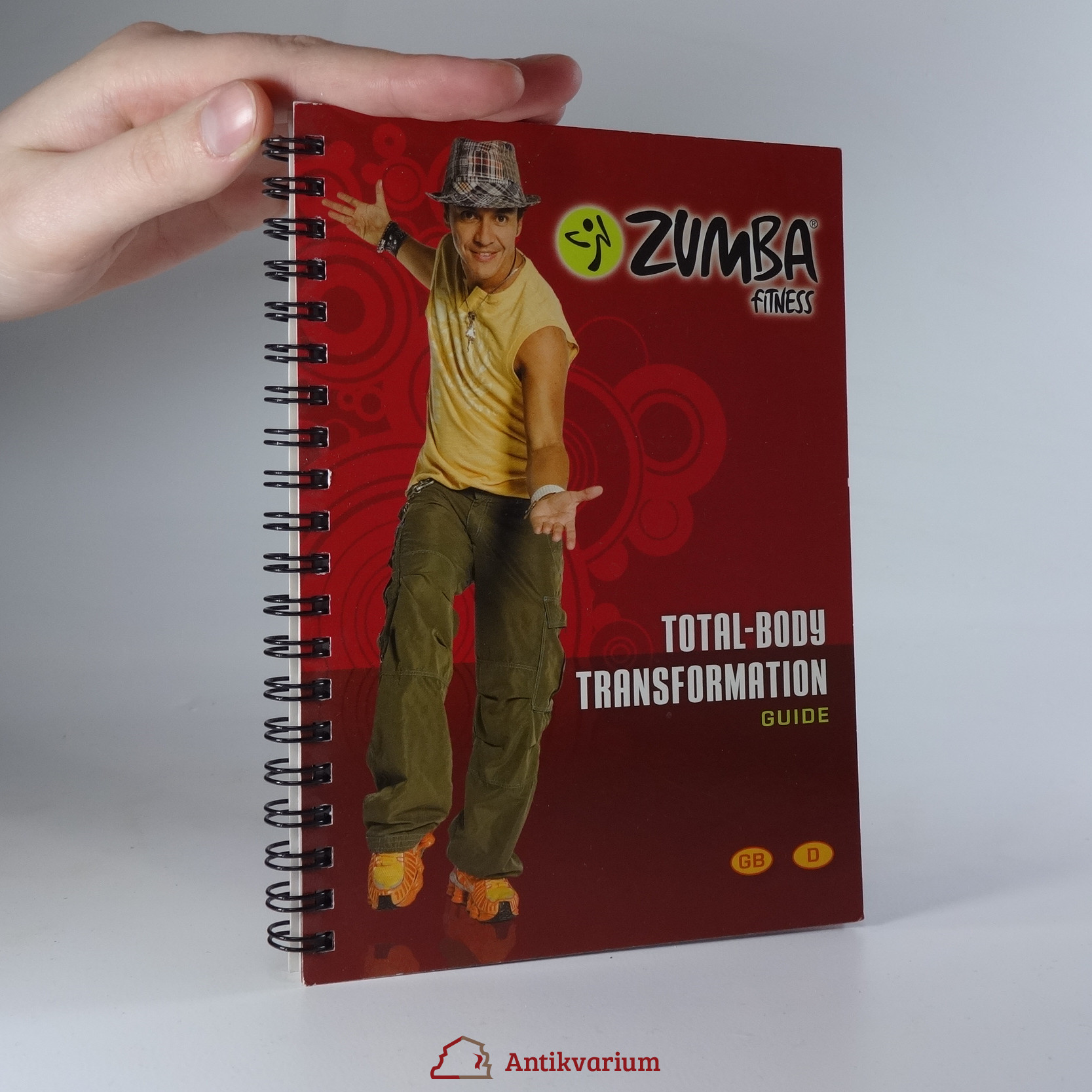 antikvární kniha Zumba Fitness. Total-body Transformation Guide., neuveden