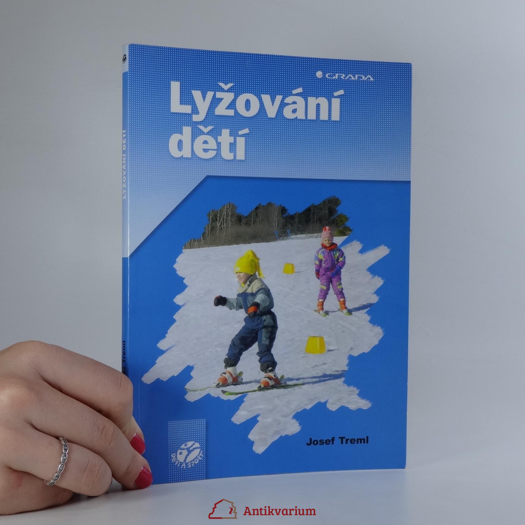 antikvární kniha Lyžování dětí, 2004