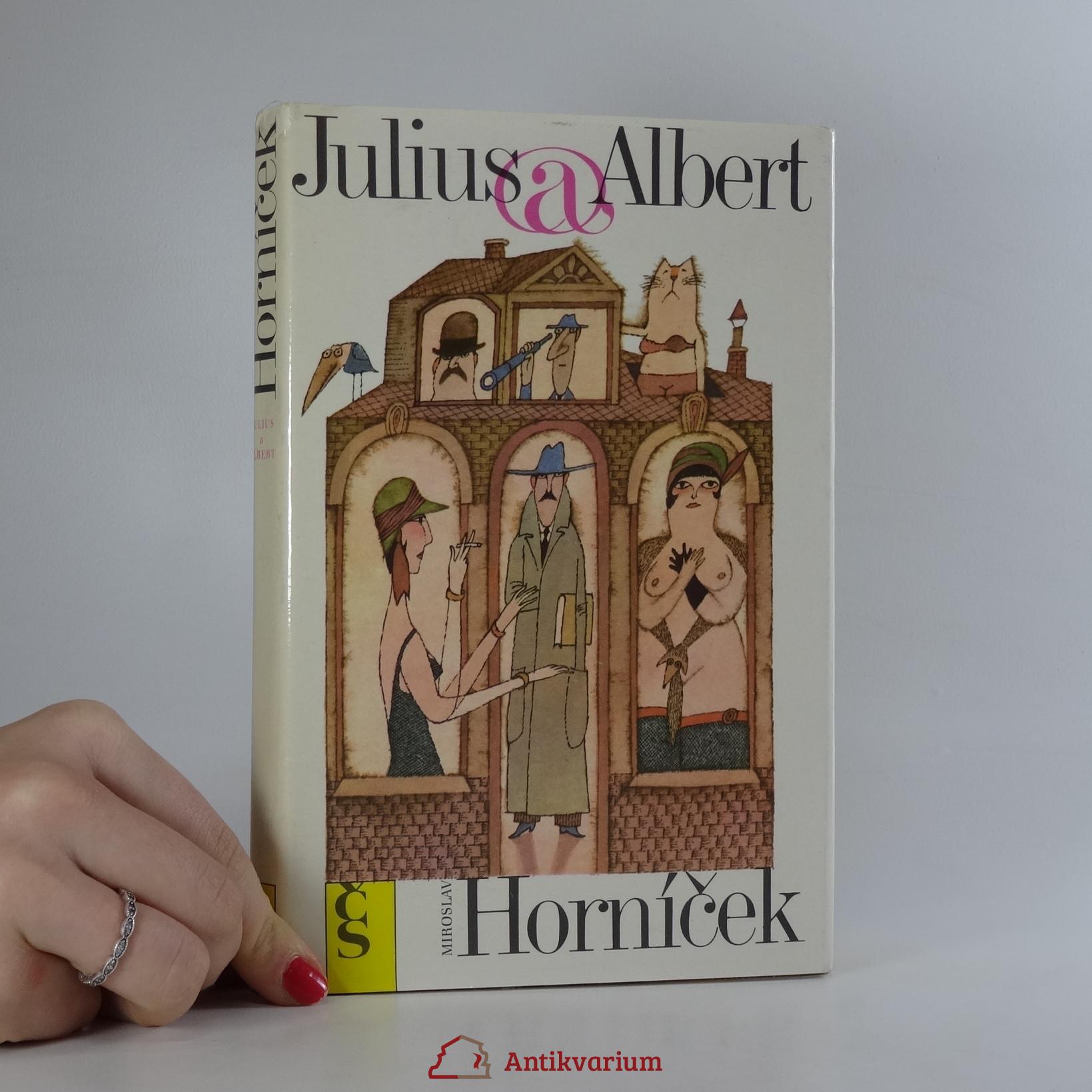 antikvární kniha Julius a Albert, 1989