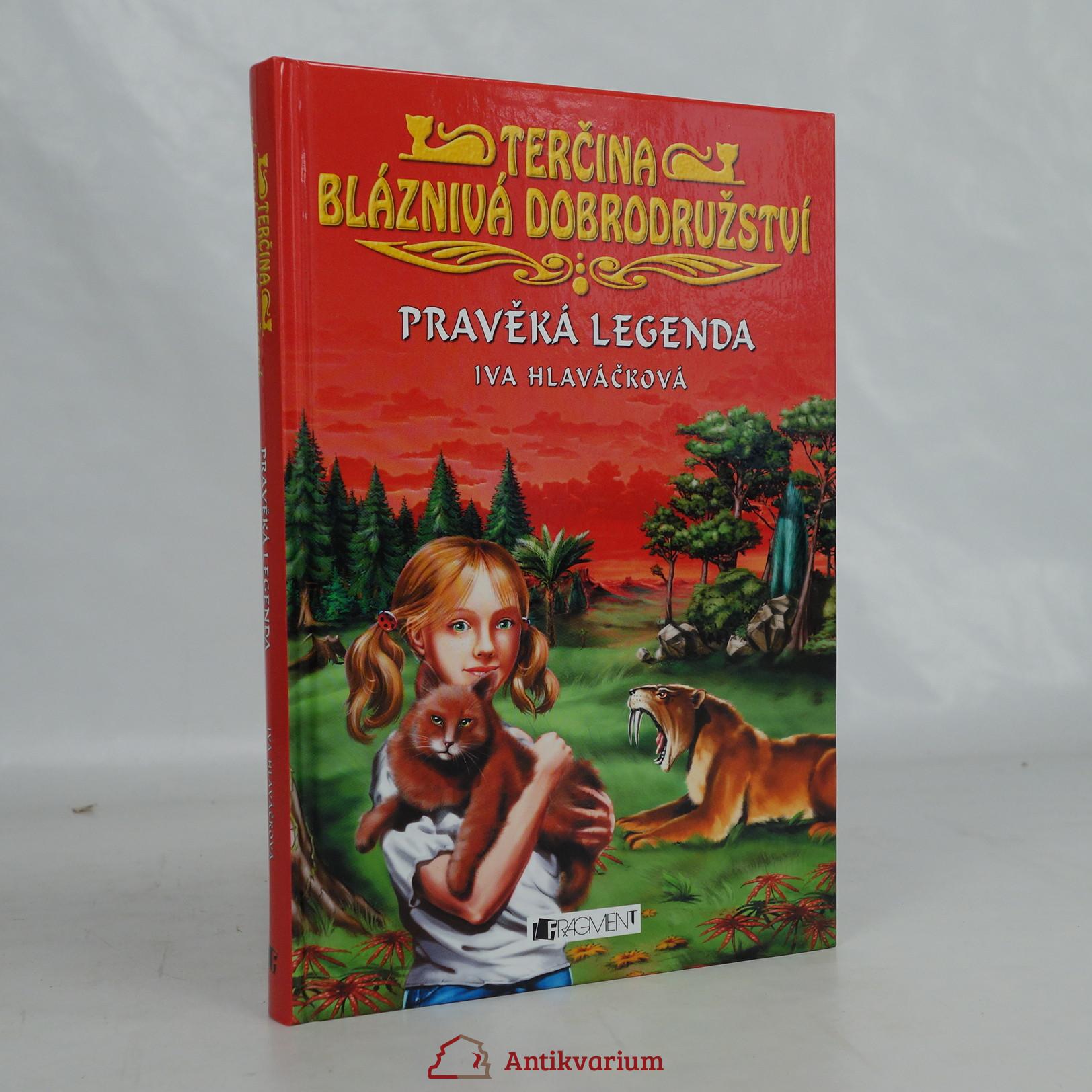 antikvární kniha Pravěká legenda, 2009
