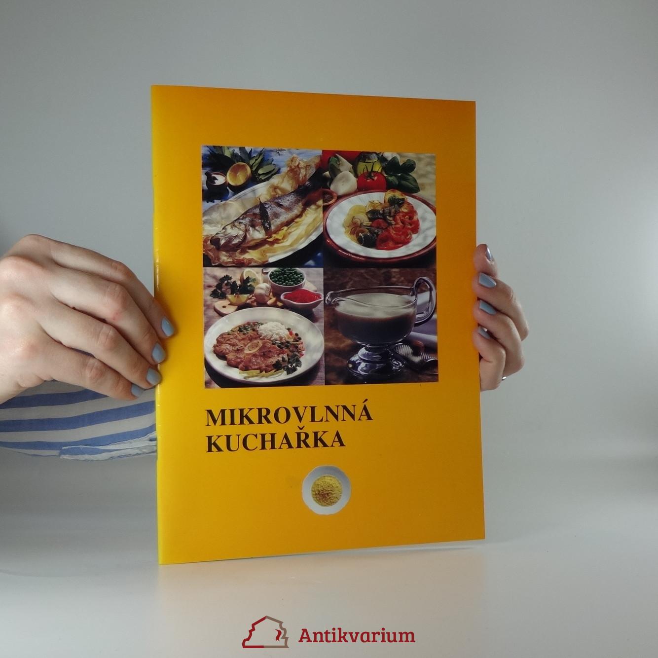 antikvární kniha Mikrovlnná kuchařka, neuveden