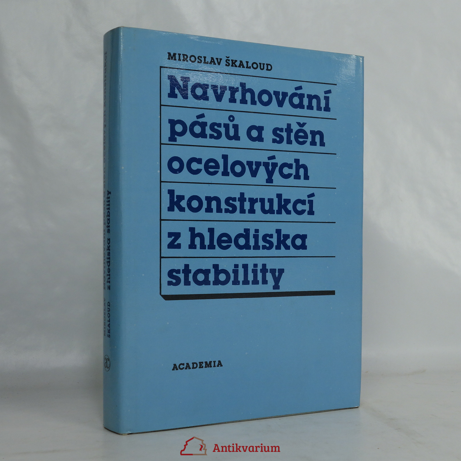 antikvární kniha Navrhování pásů a stěn ocelových konstrukcí z hlediska stability, 1988