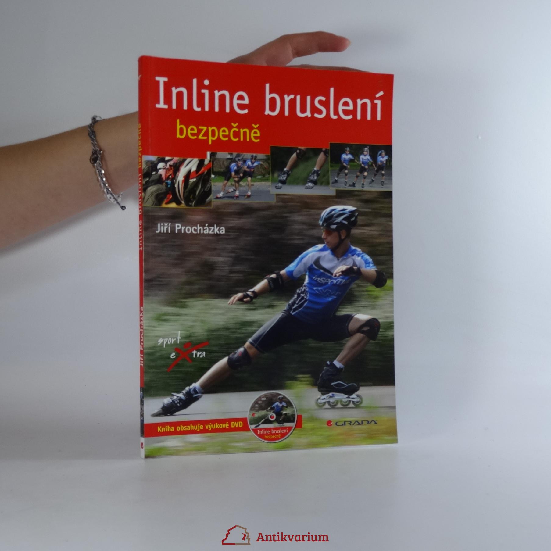 antikvární kniha Inline bruslení bezpečně, 2010