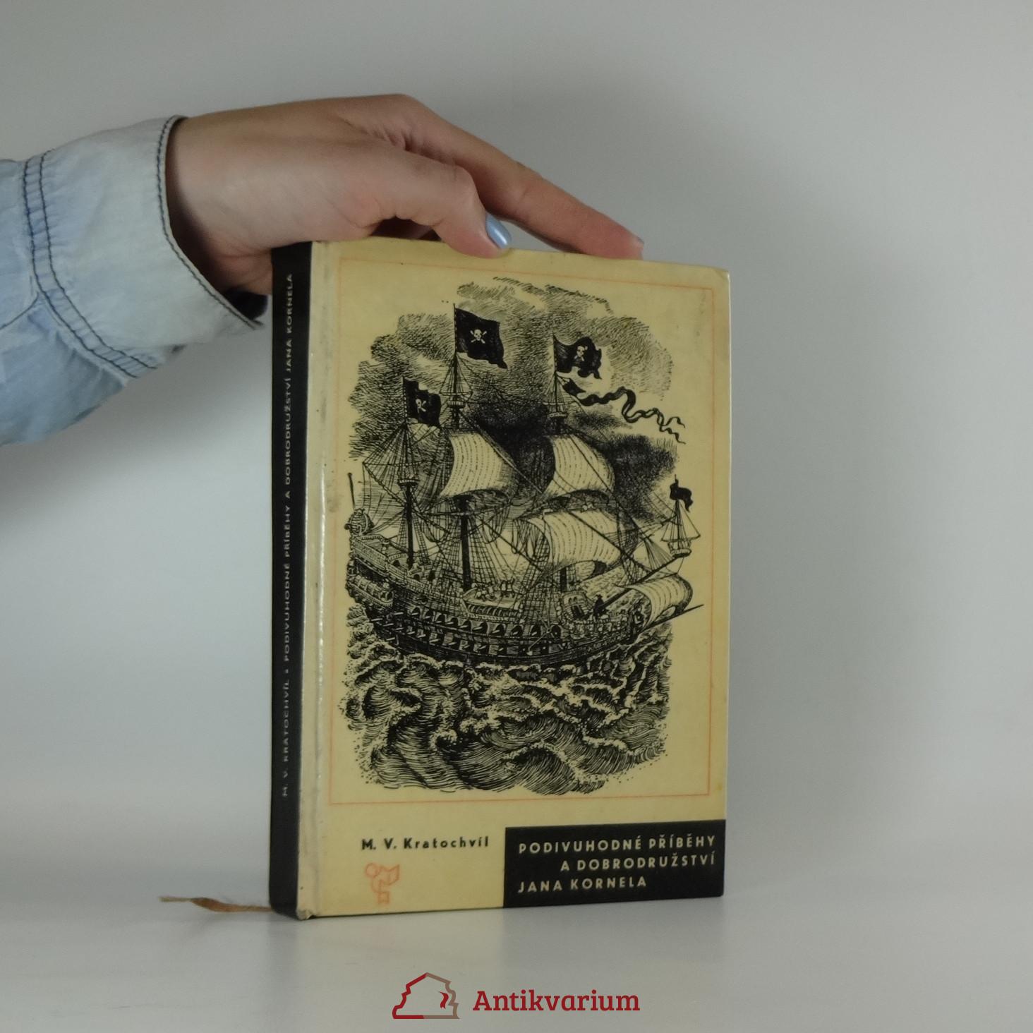 antikvární kniha Podivuhodné příběhy a dobrodružství Jana Kornela, 1966