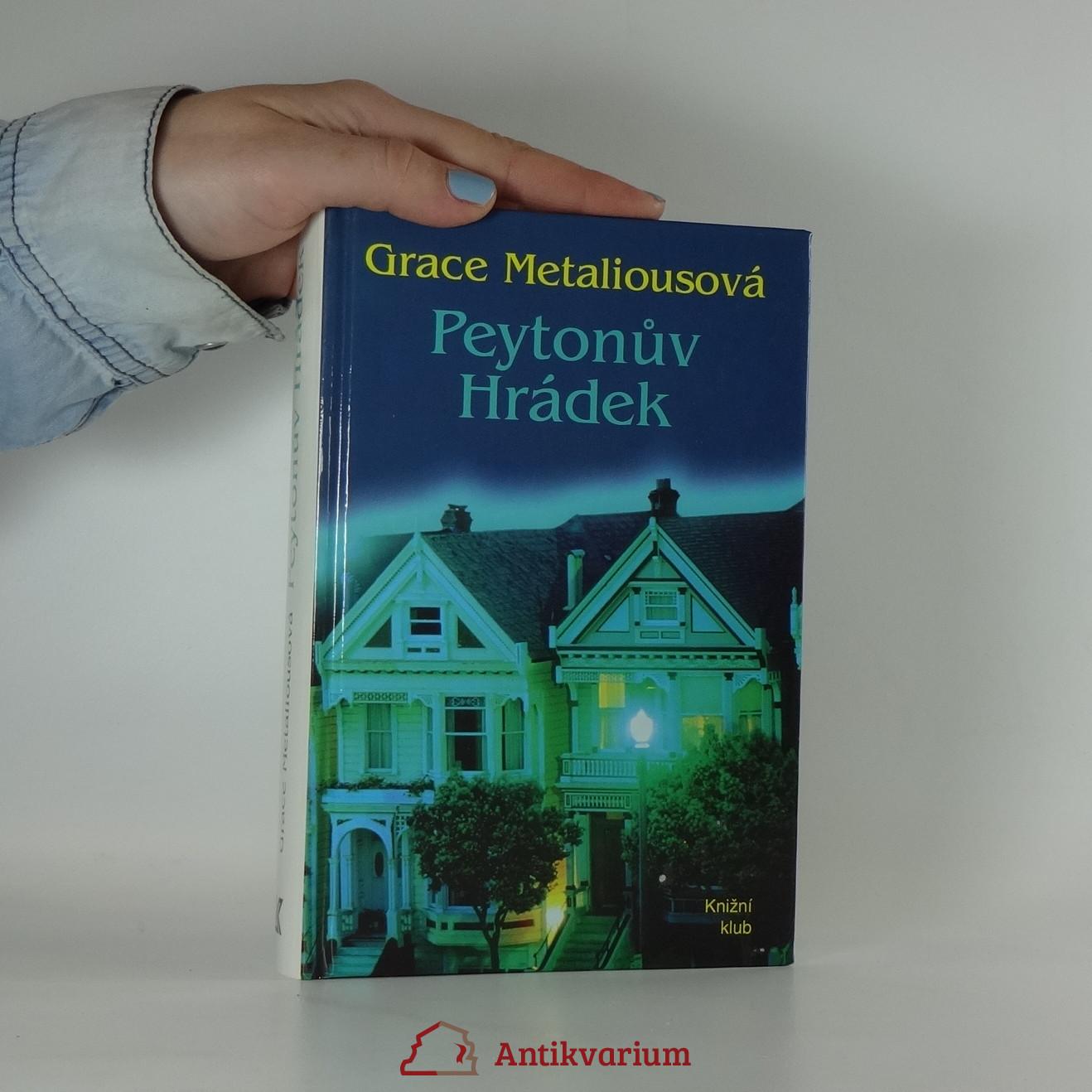 antikvární kniha Peytonův Hrádek, 1994