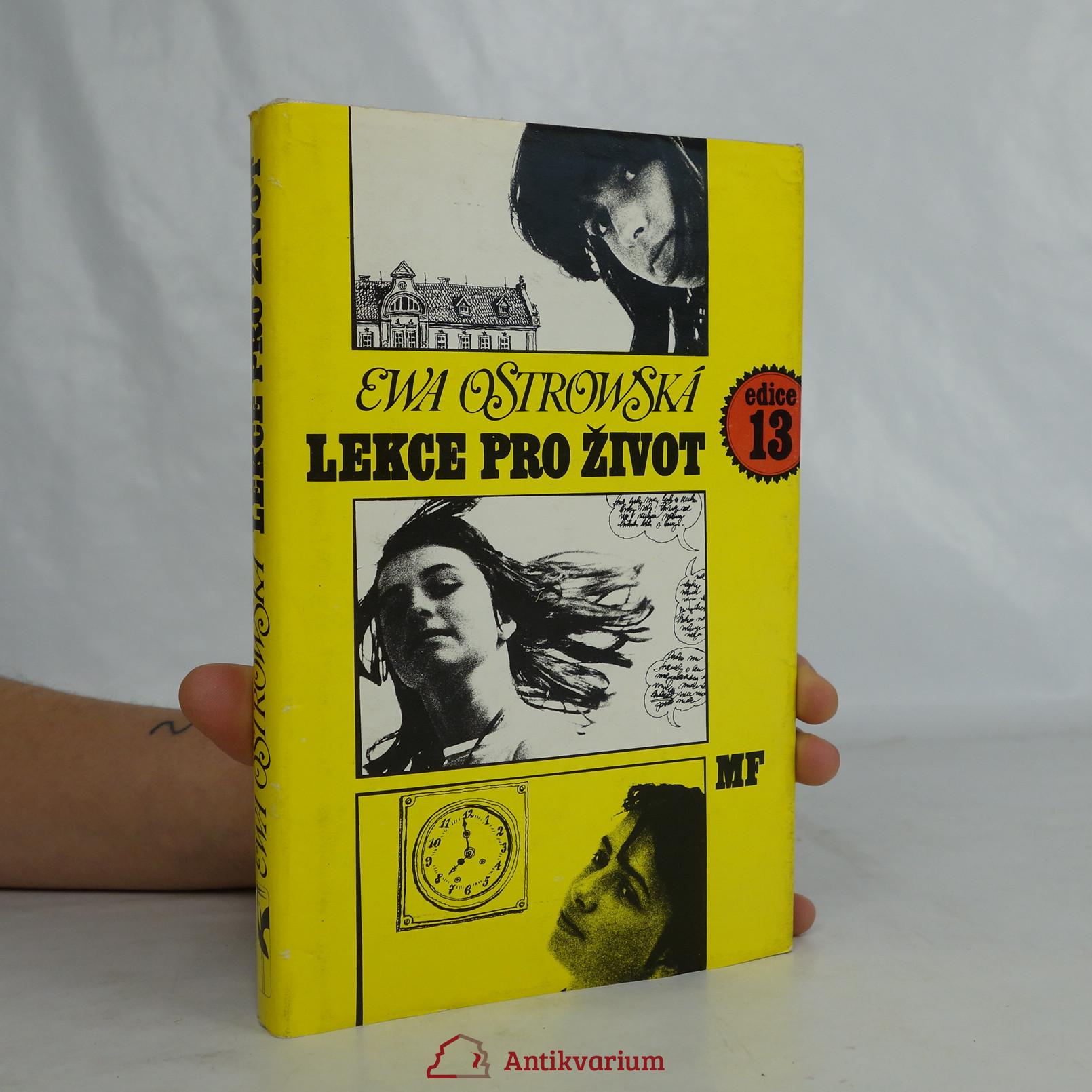 antikvární kniha Lekce pro život, 1987