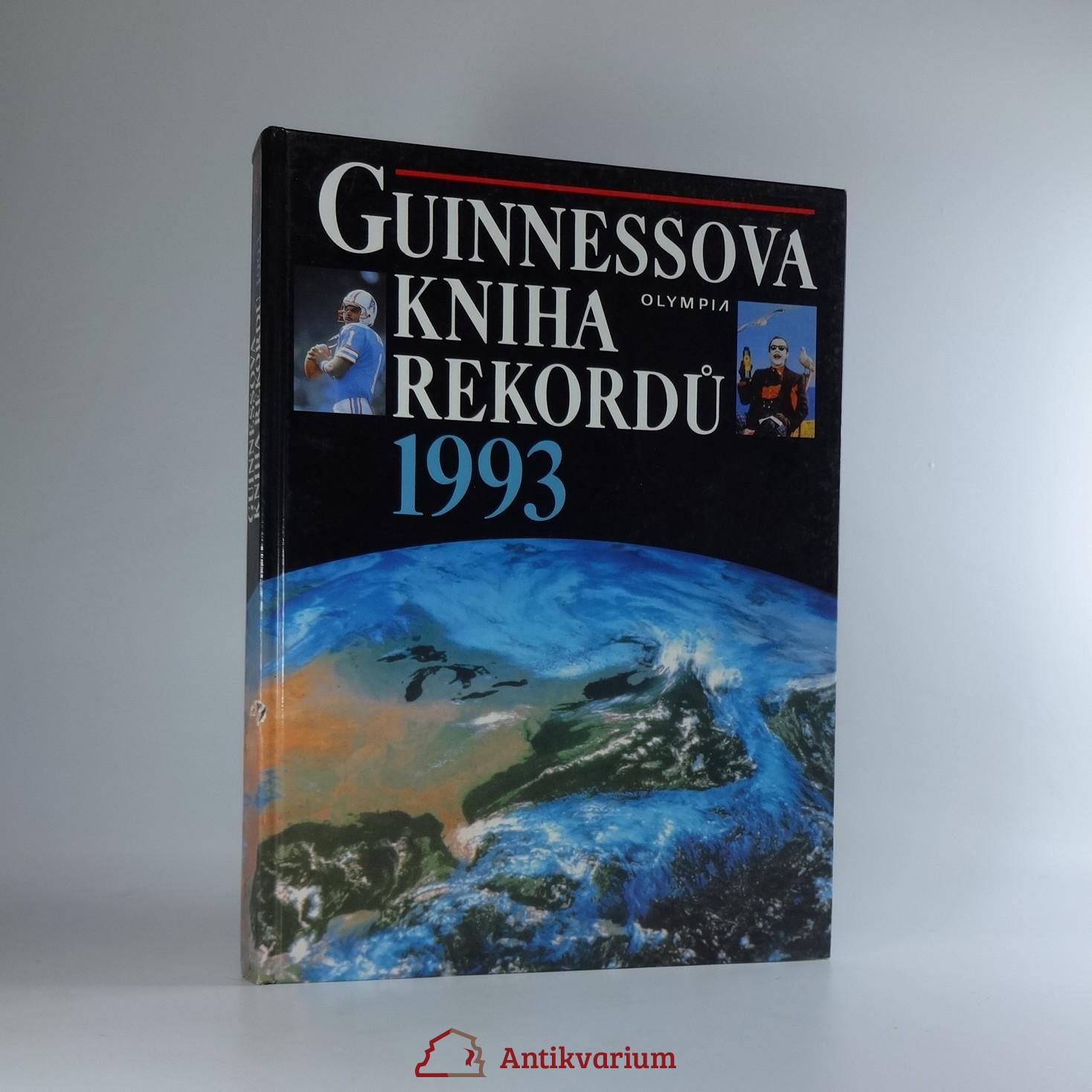 antikvární kniha Guinnessova kniha rekordů. 1993, 1993