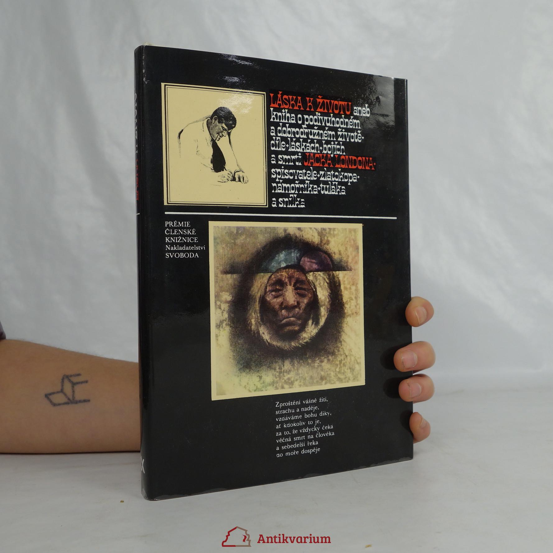 antikvární kniha Láska k životu, 1977
