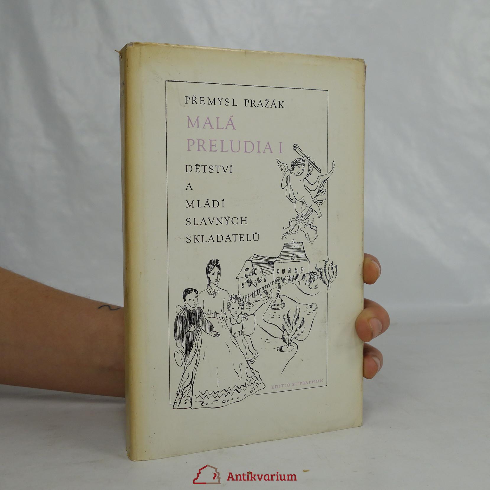 antikvární kniha Malá preludia 1, 1972