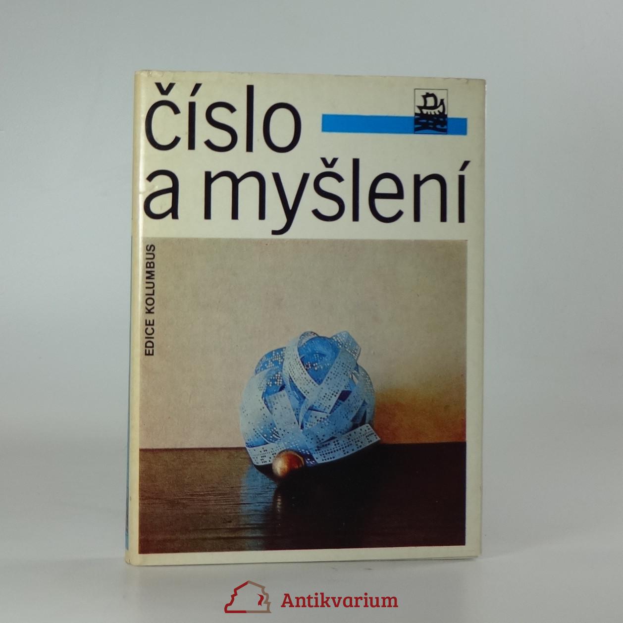 antikvární kniha Číslo a myšlení, 1983