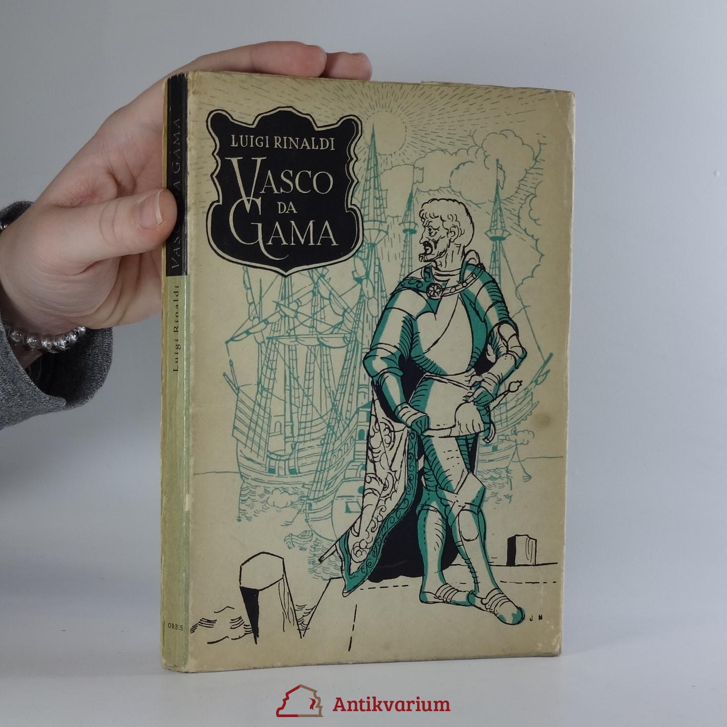 antikvární kniha Vasco da Gama : do Indie přes oceány, 1943