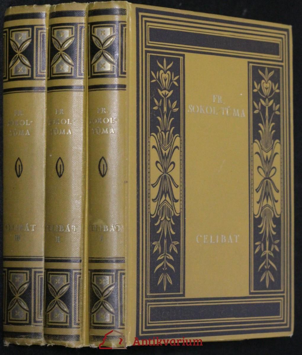 antikvární kniha Celibát I. - III. díl, 1928