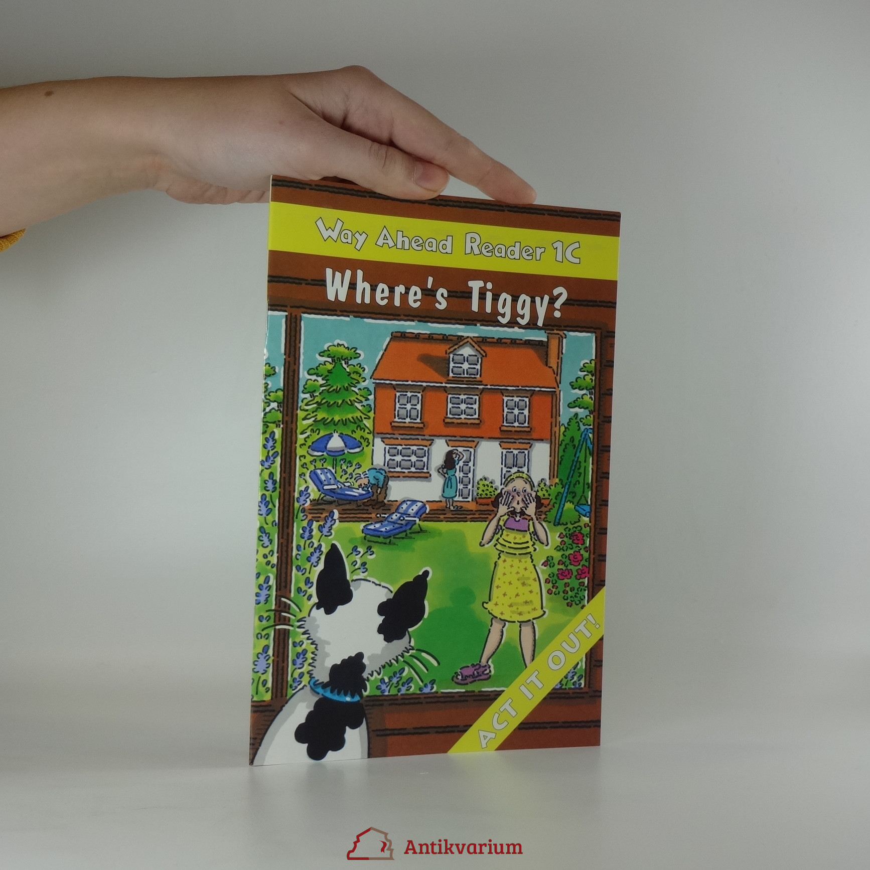 antikvární kniha Way Ahead Reader 1C. Where´s Tiggy?, 1999