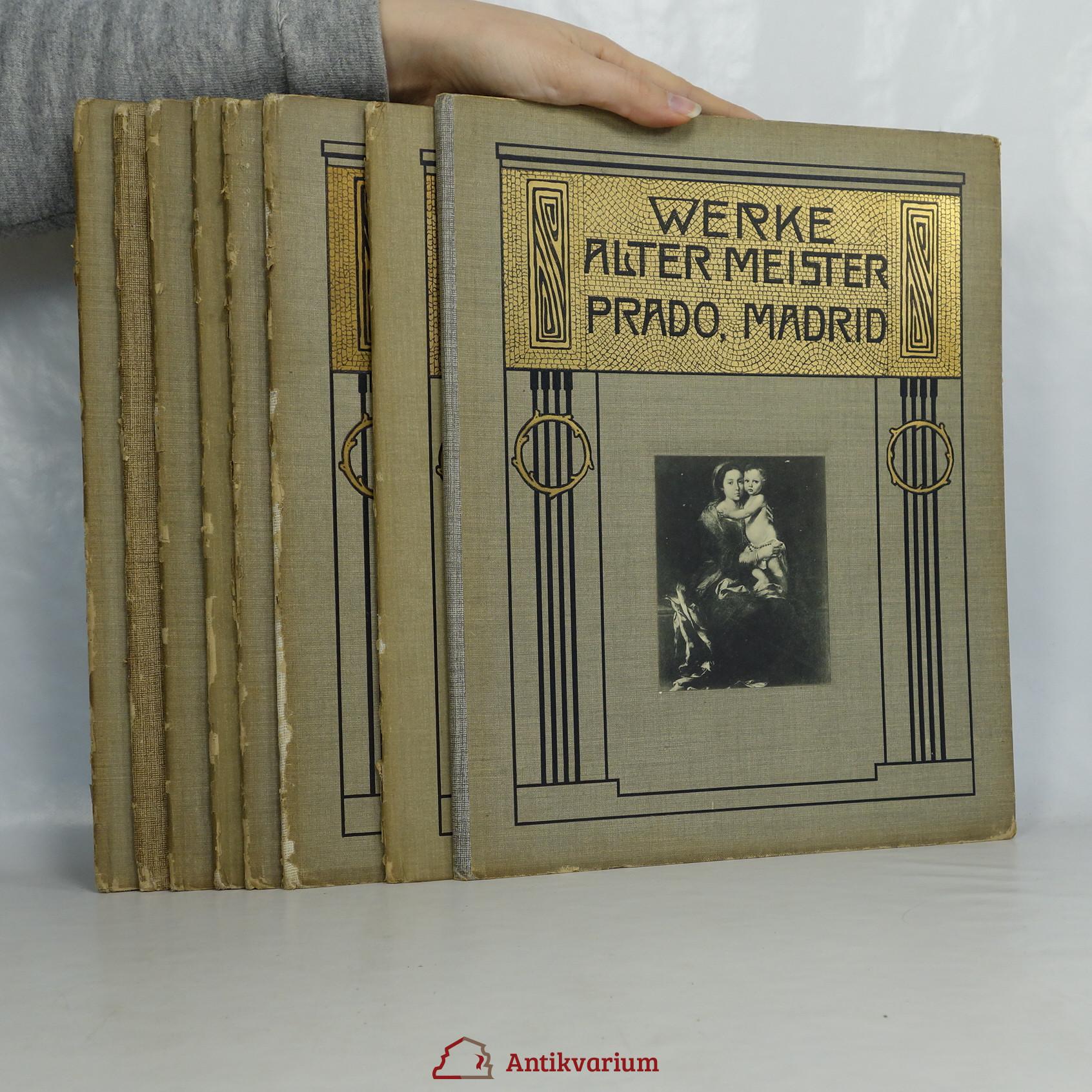 antikvární kniha Werke Alter Meister. (8 svazků)., neuveden