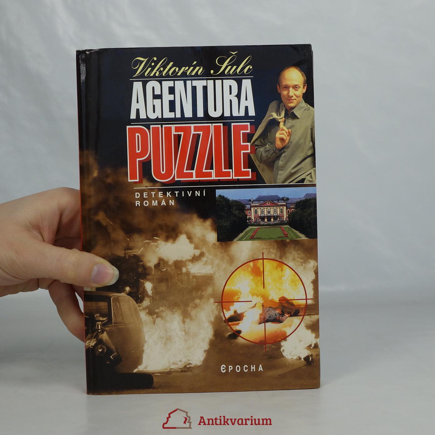 antikvární kniha Agentura Puzzle, 2004