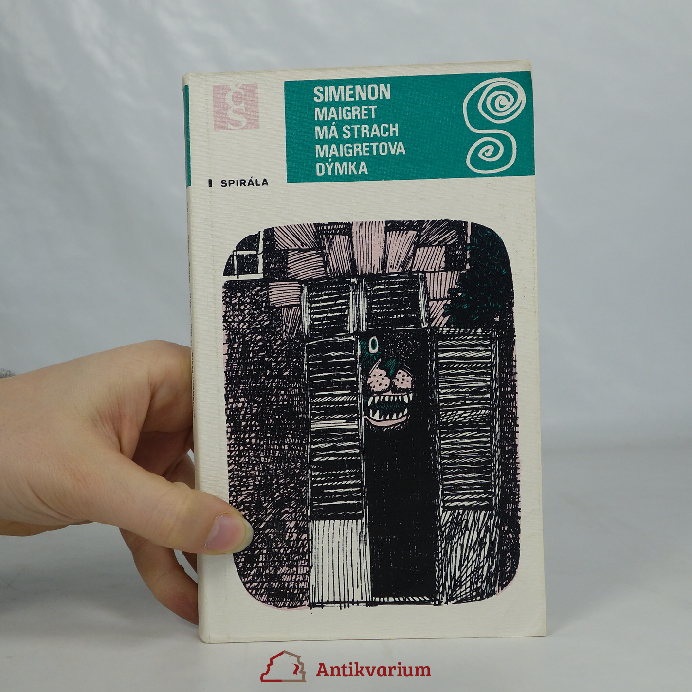 antikvární kniha Maigret má strach. Maigretova dýmka., 1979