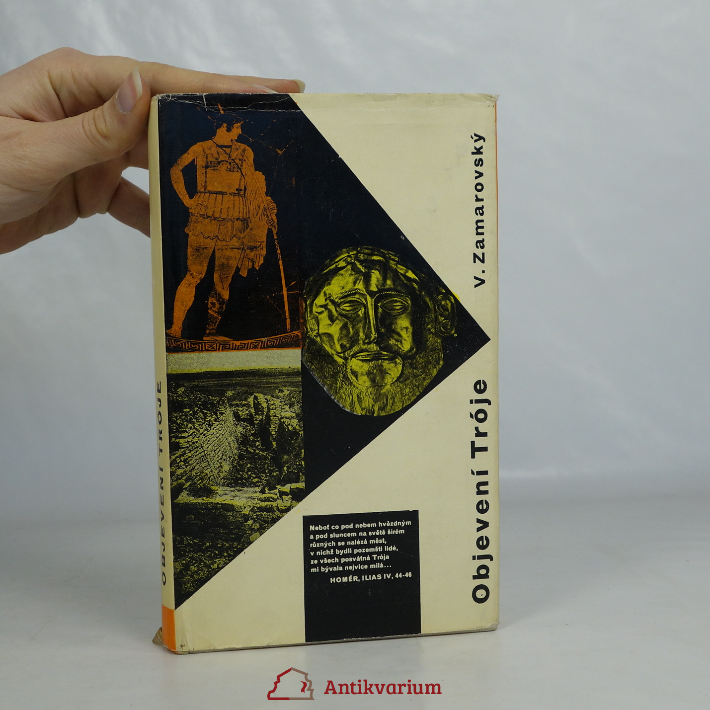 antikvární kniha Objevení Tróje, 1962