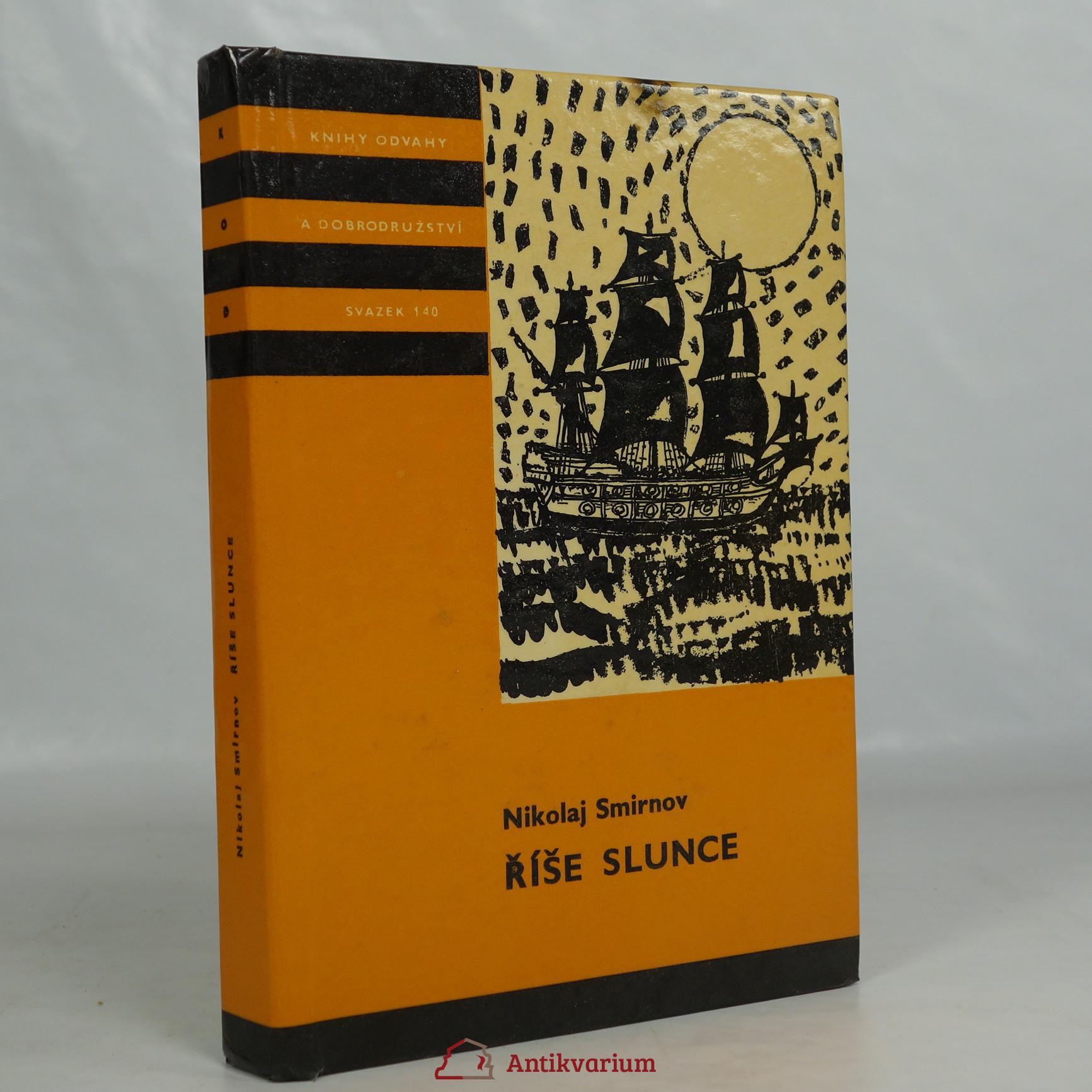antikvární kniha Říše slunce, 1976