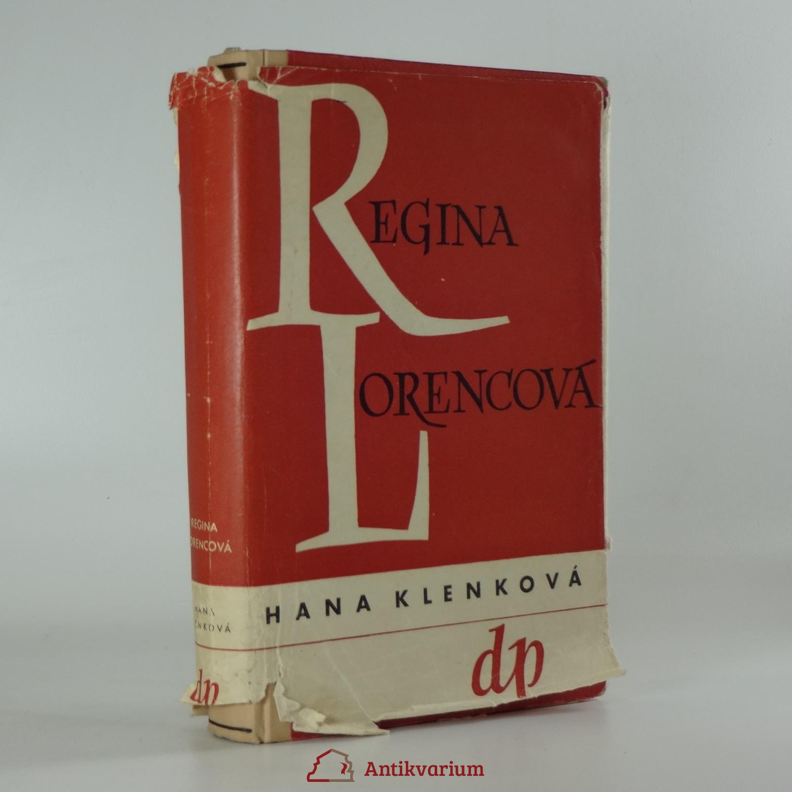 antikvární kniha Regina Lorencová, 1947