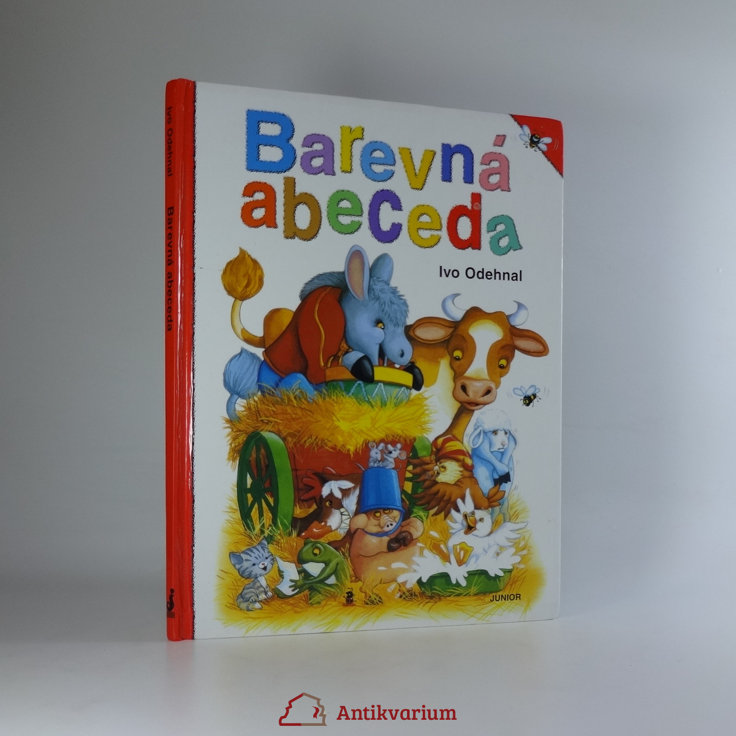 antikvární kniha Barevná abeceda, neuveden