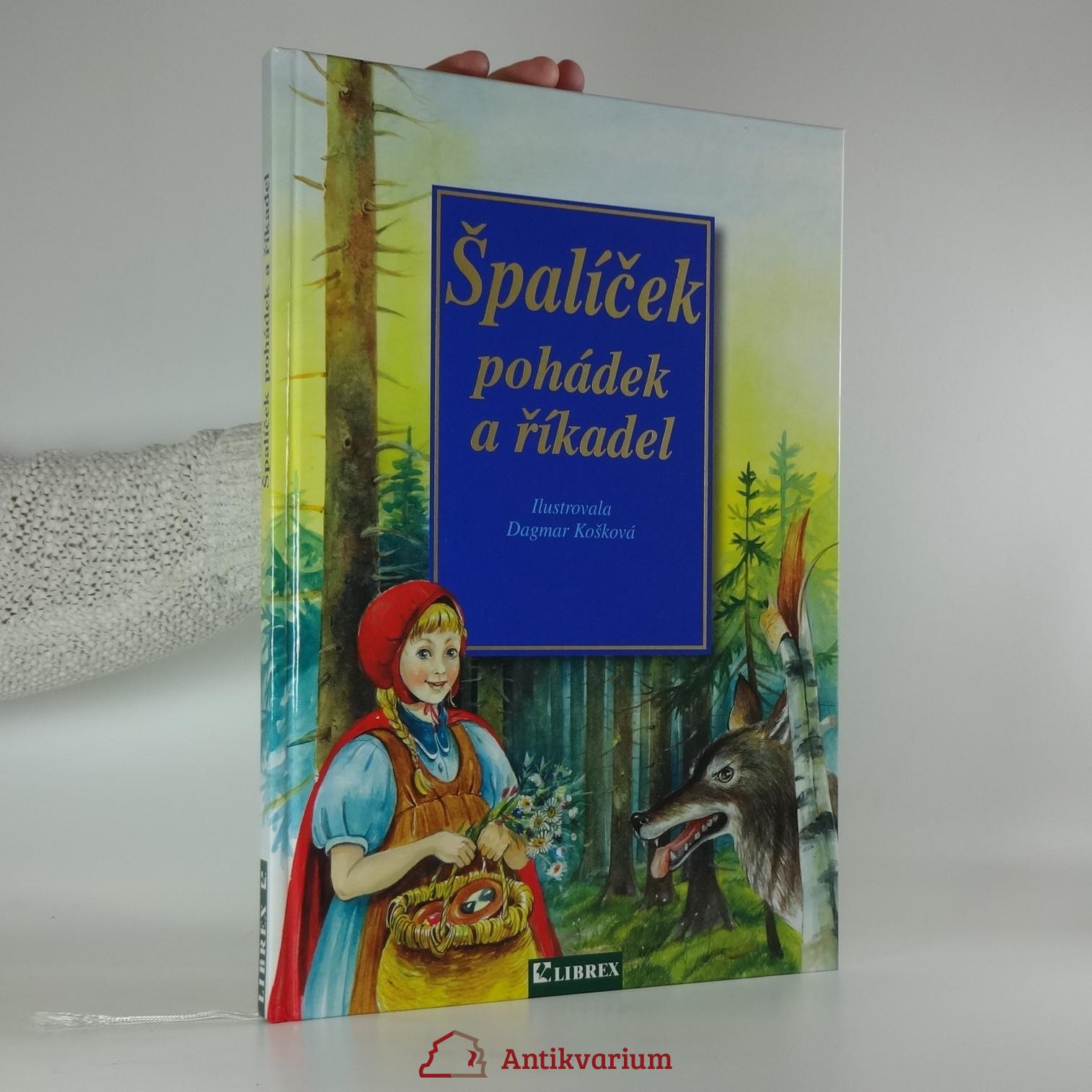 antikvární kniha Špalíček pohádek a říkadel, 2001