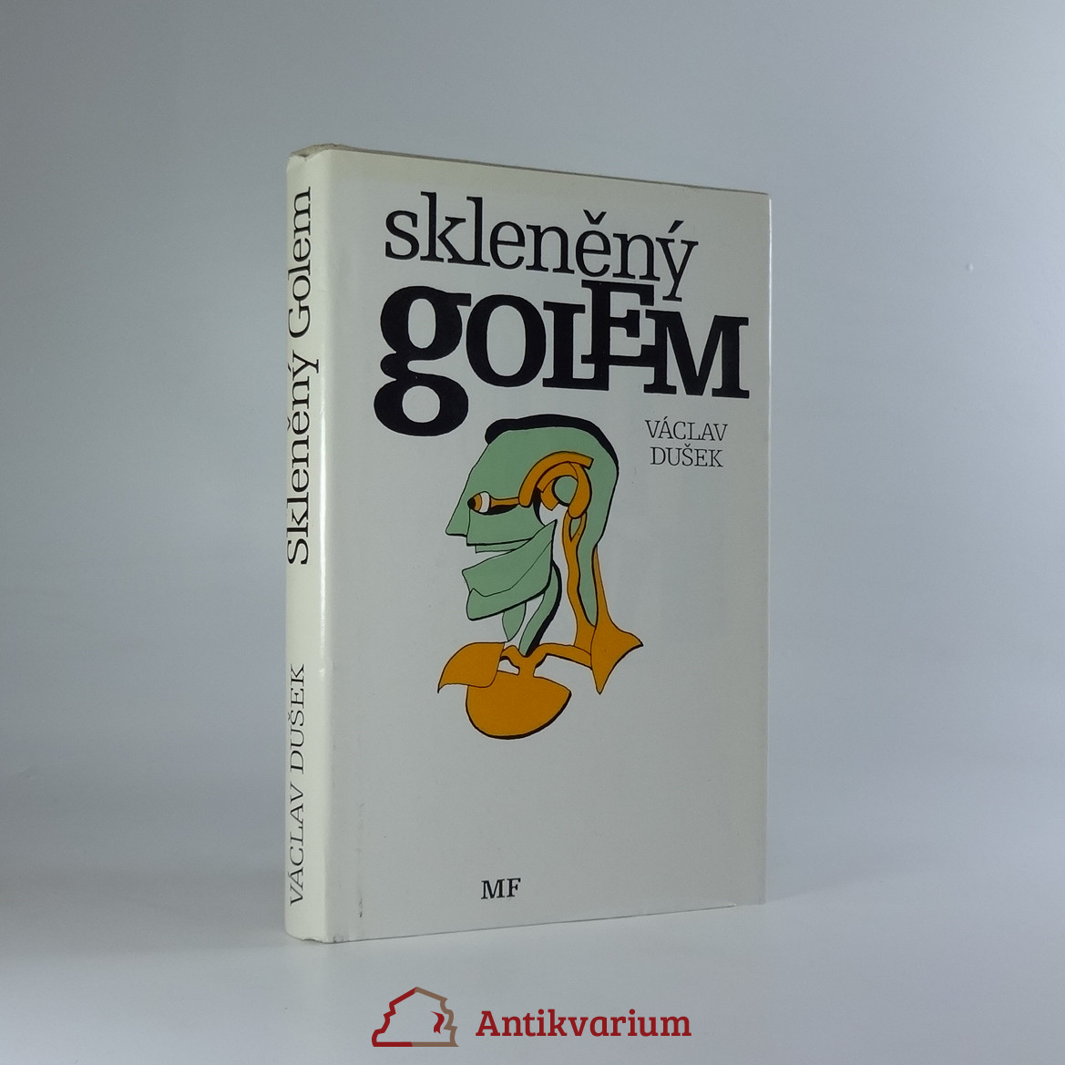 antikvární kniha Skleněný Golem, 1989