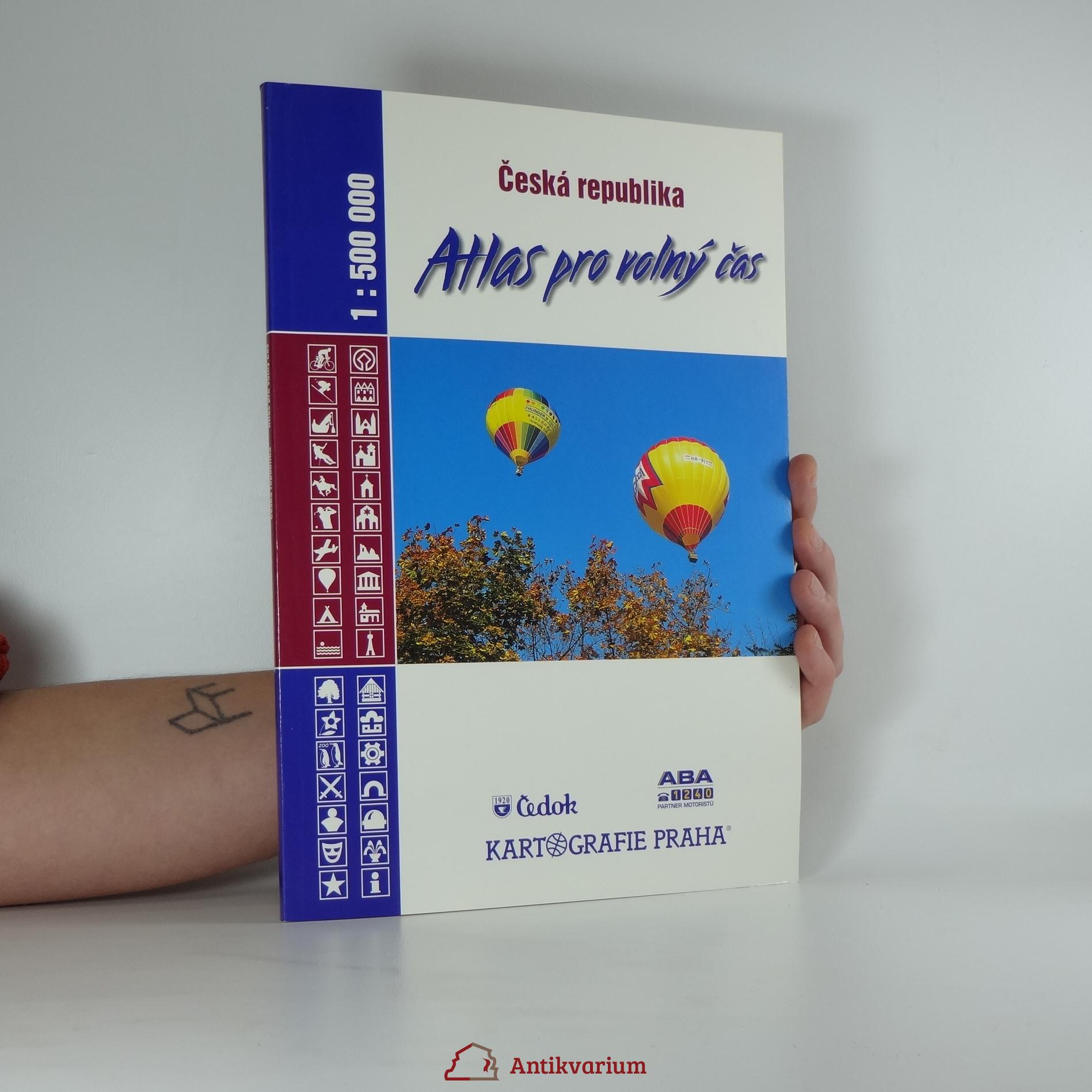 antikvární kniha Česká republika atlas pro volný čas 1:500 000, 2001