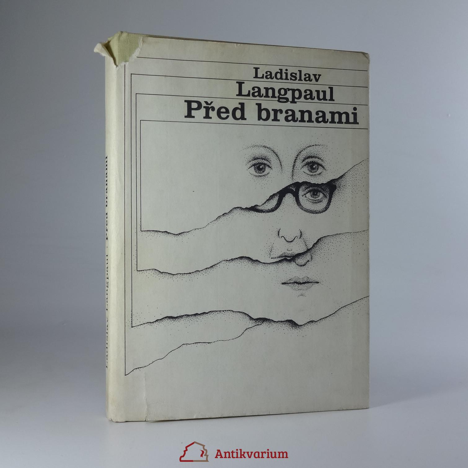 antikvární kniha Před branami, 1982