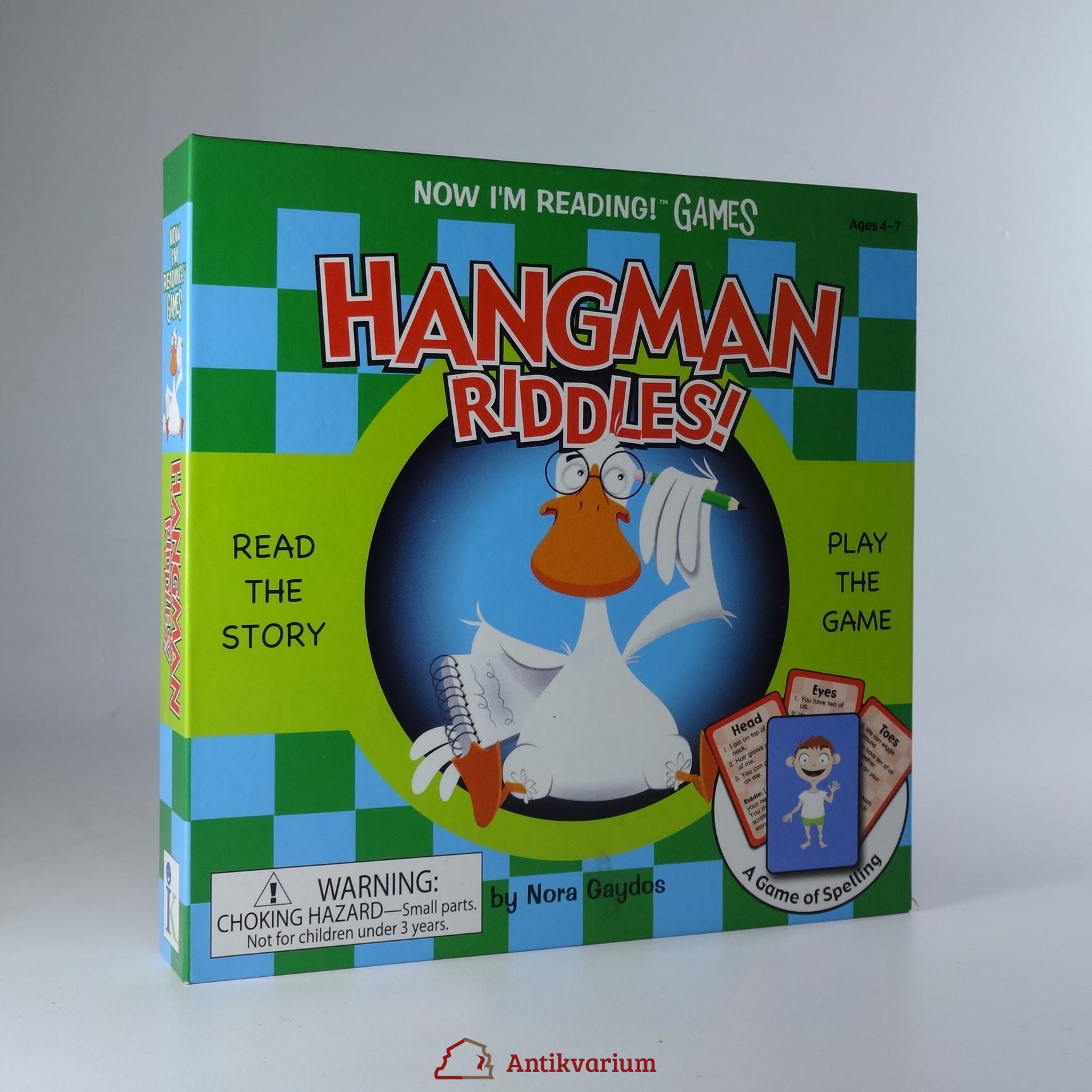 antikvární kniha Hangman Riddles, 2009