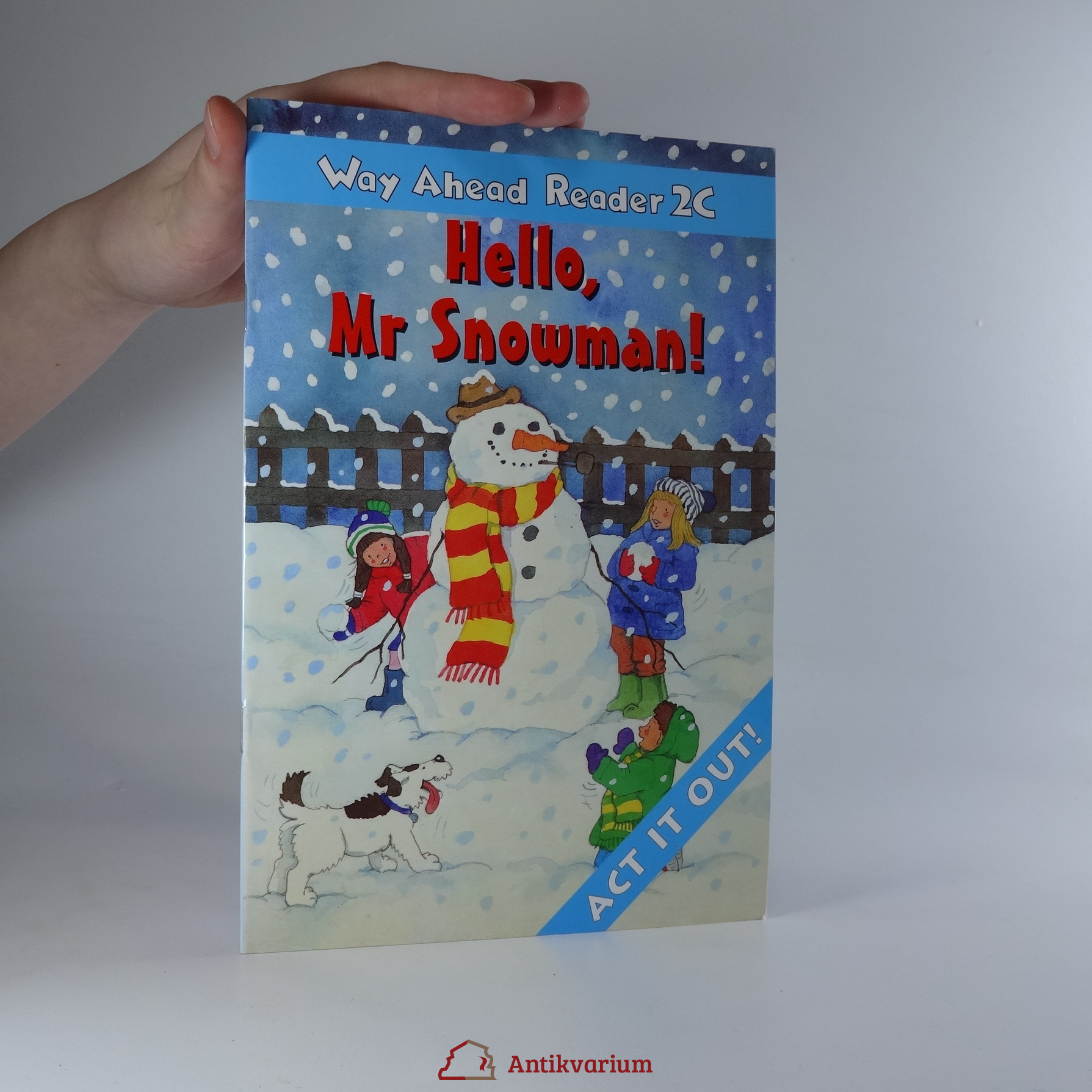 antikvární kniha Way Ahead Reader 2C. Hello, Mr. Snowman!, 1999