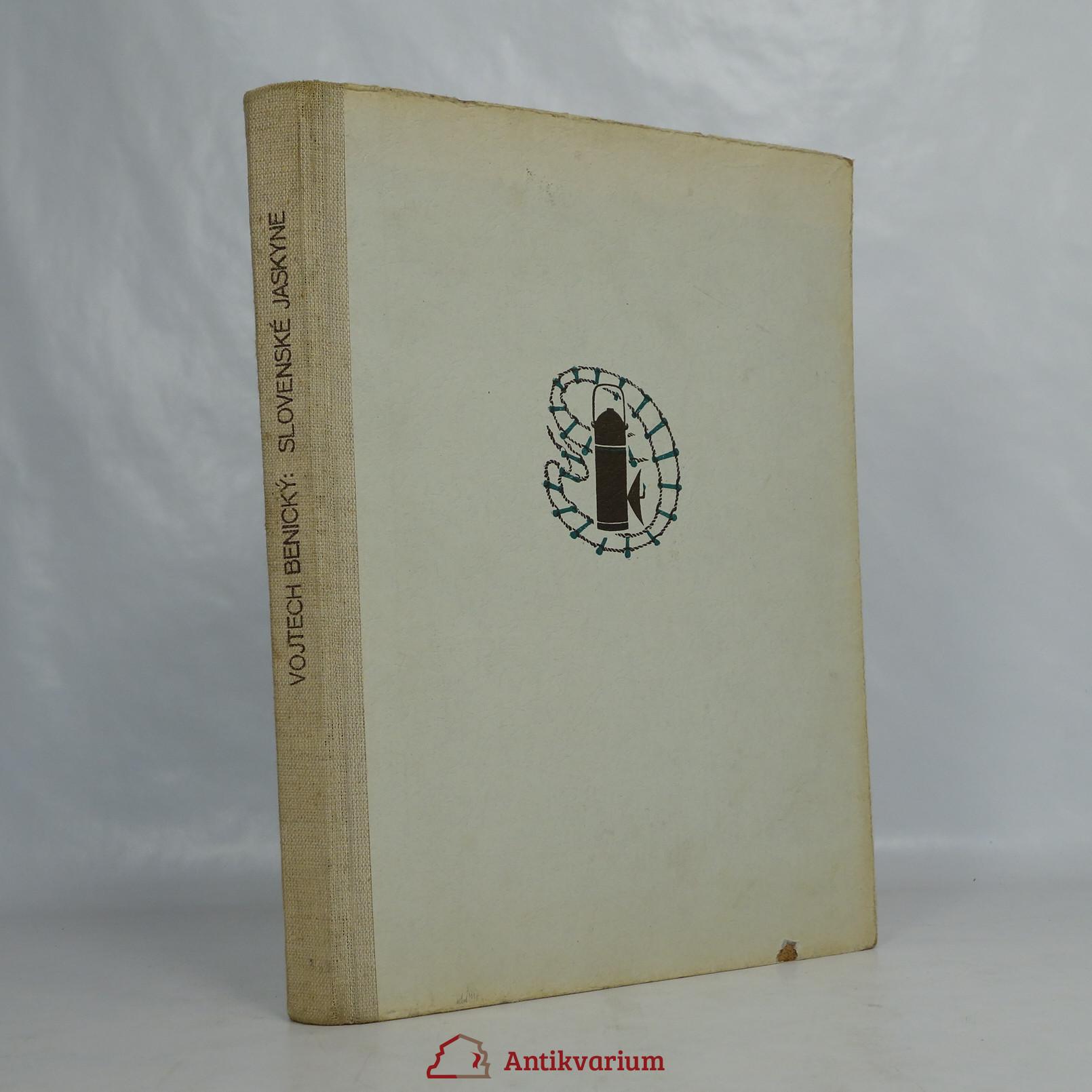 antikvární kniha Slovenské jaskyne, 1950
