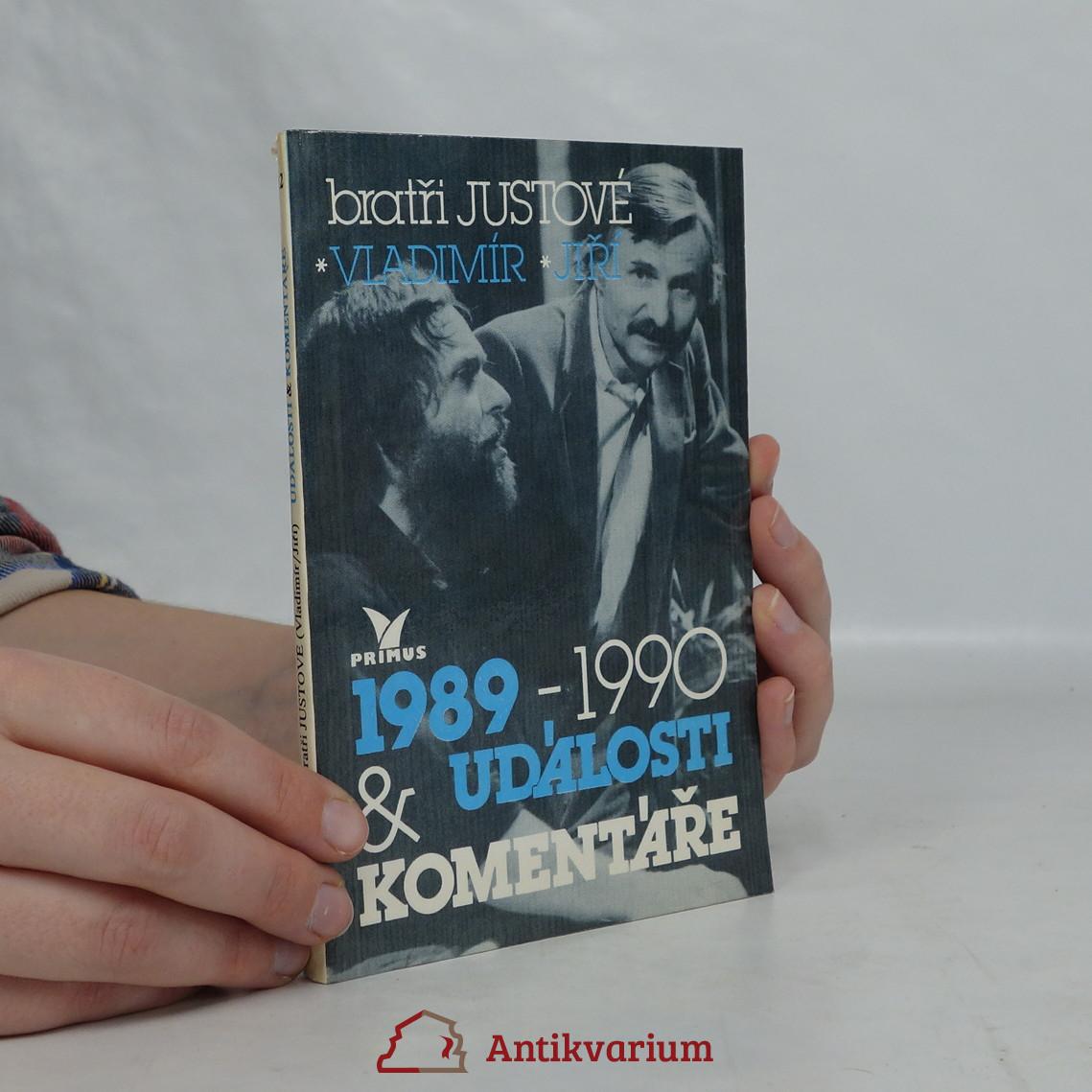 antikvární kniha Události a komentáře. 1989-1990, 1992