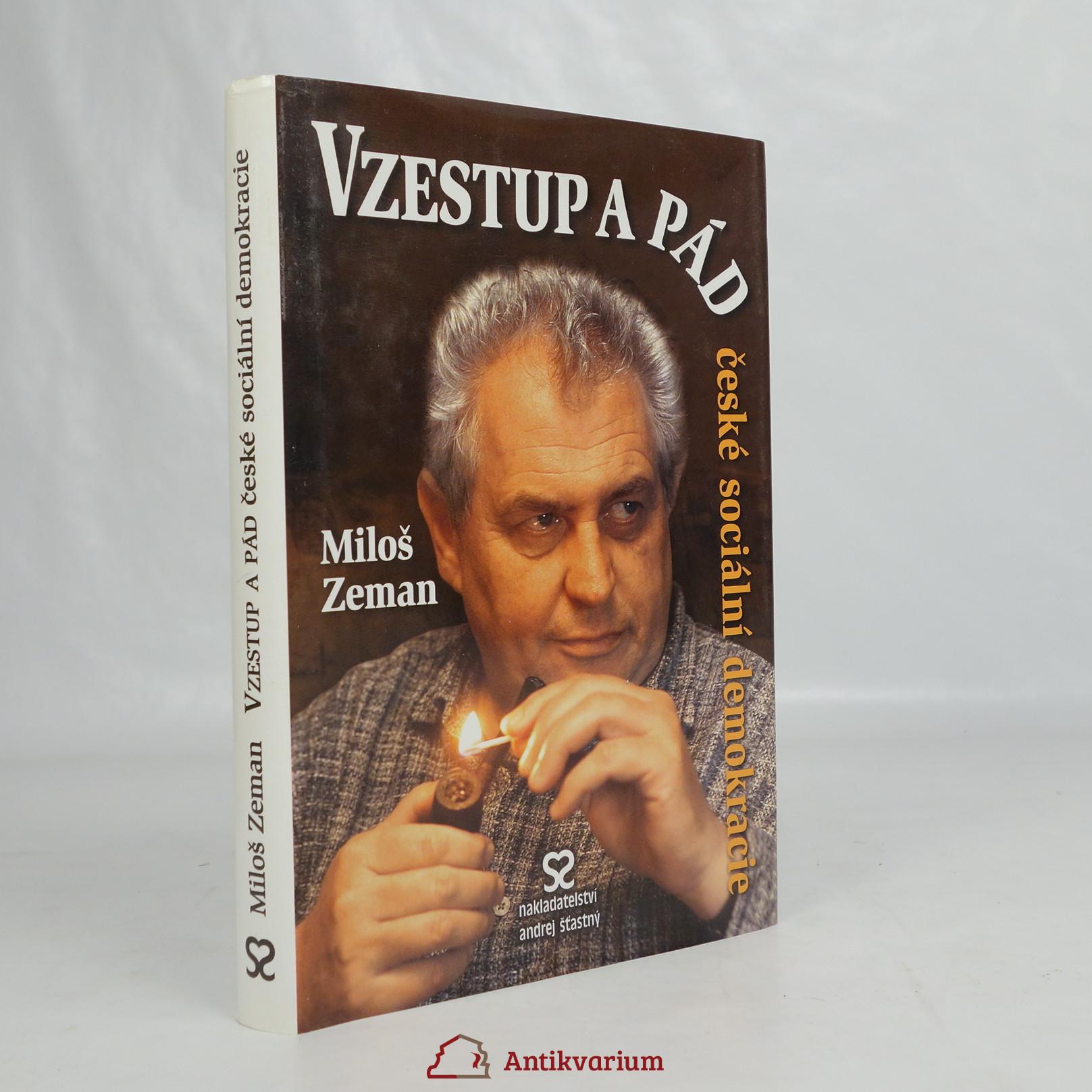 antikvární kniha Vzestup a pád české sociální demokracie, 2006